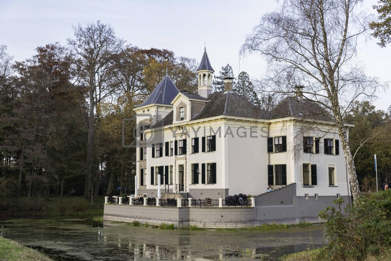 Ols,Holland,08-nov-2020:De Haere castle, Olst, Overijssel, , Netherlands,