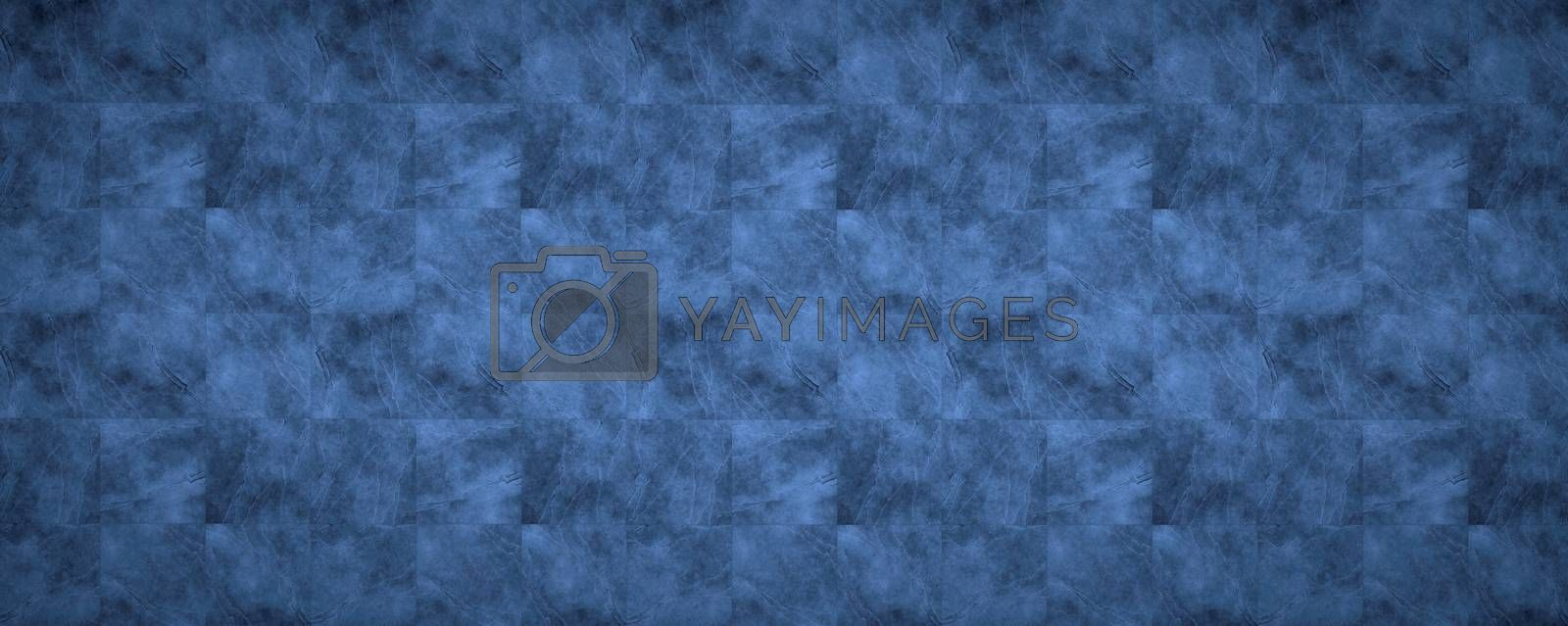 Background image showing a surface with the texture of marble on ceramic tiles in blue tones