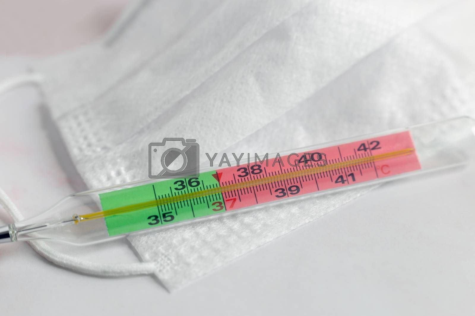 Coronavirus infection: increased body temperature on the thermometer, protection and treatment