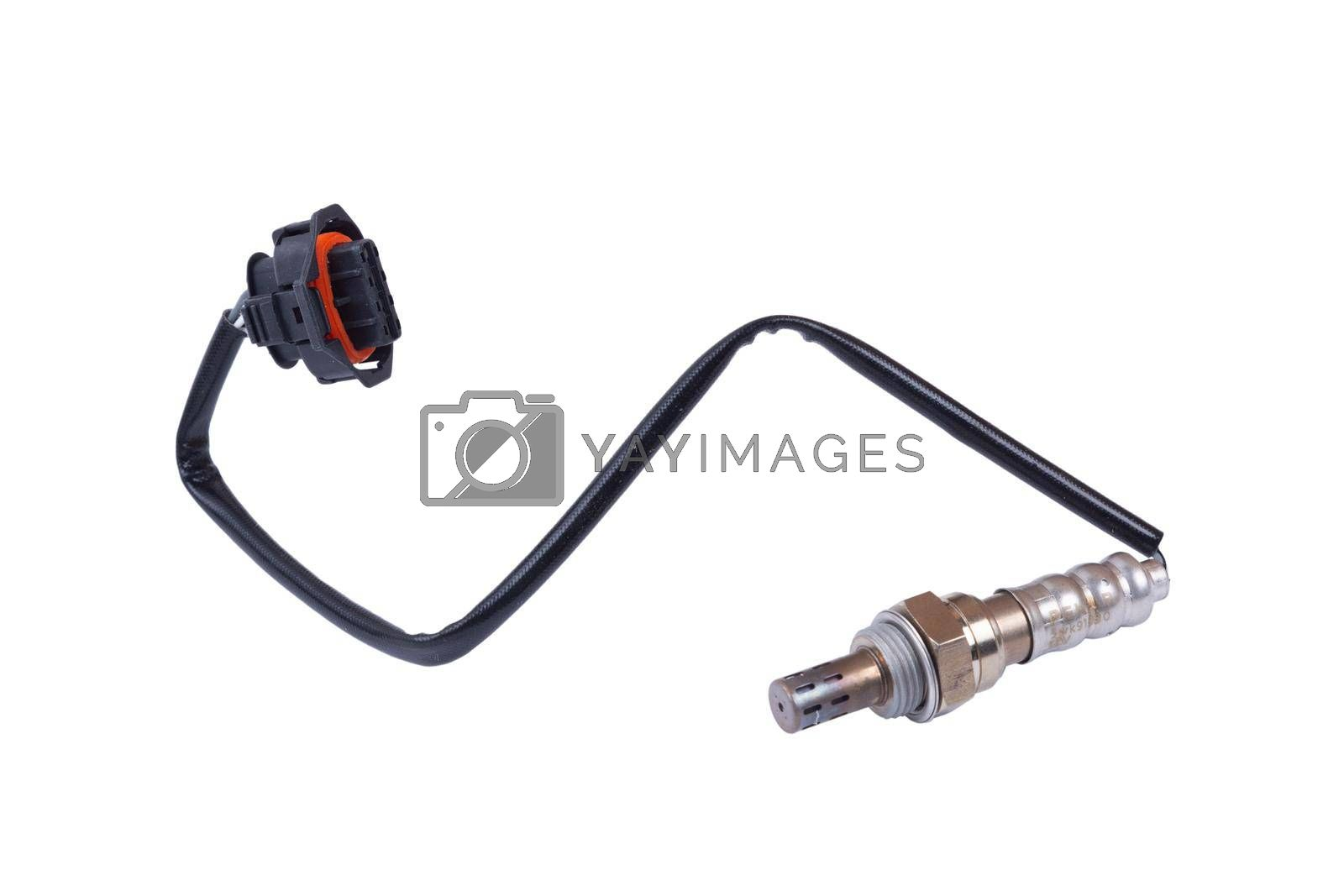 Royalty free image of Details of an Oxygen sensor or lambda sensor by forester