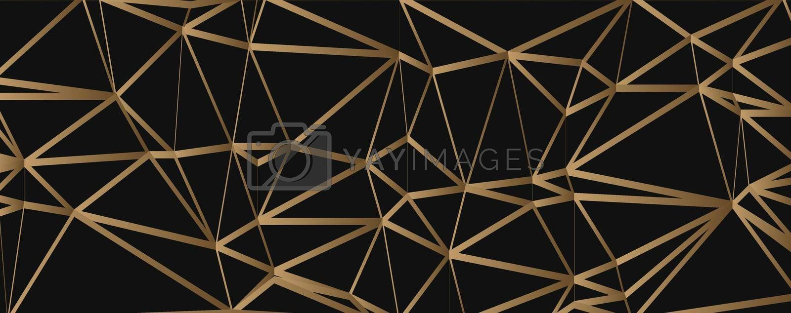 Abstract 2D geometric colorful background. Modern and stylish abstract design poster - Vector.
