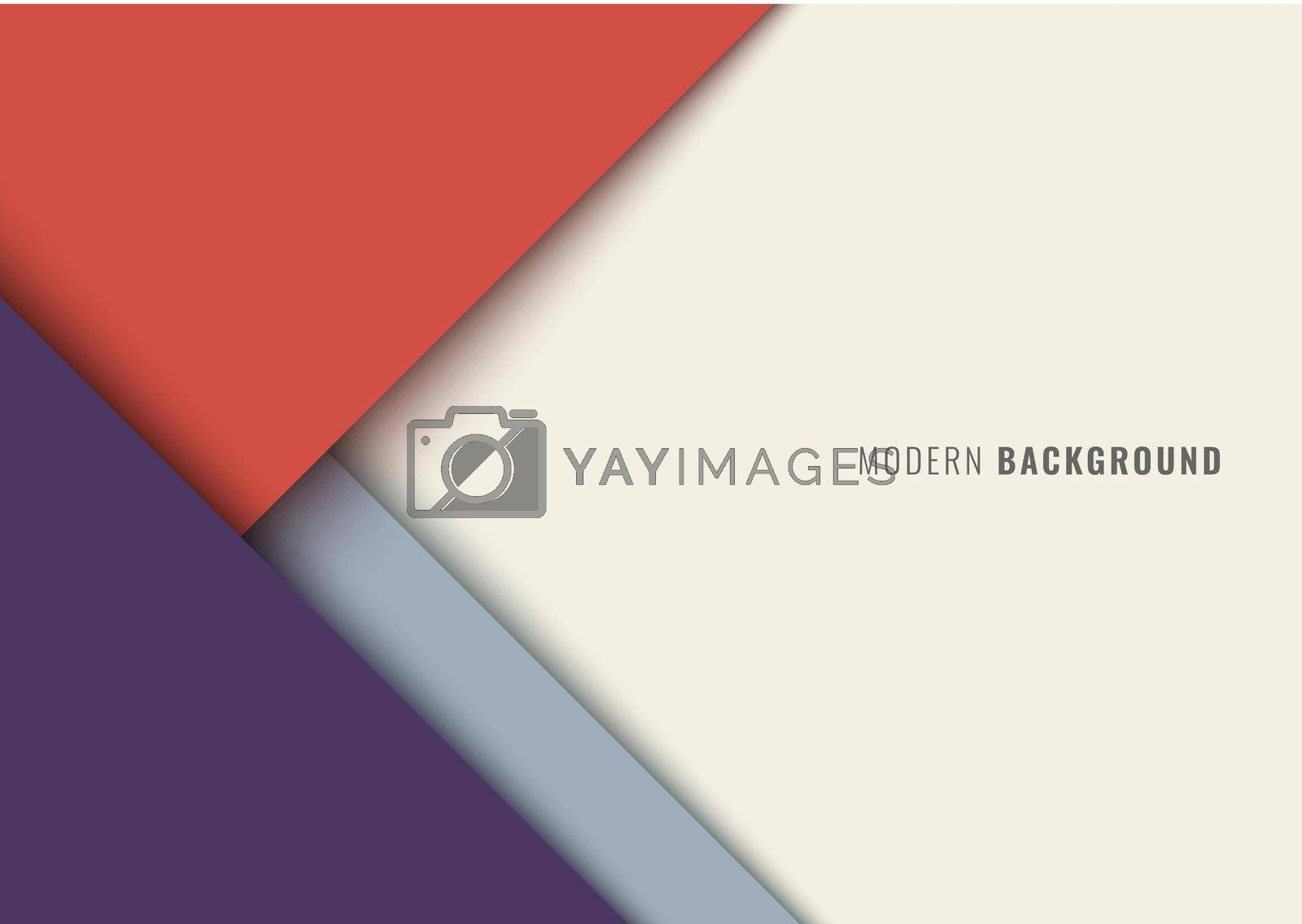 Business template modern background geometric papercut style. Vector illustration