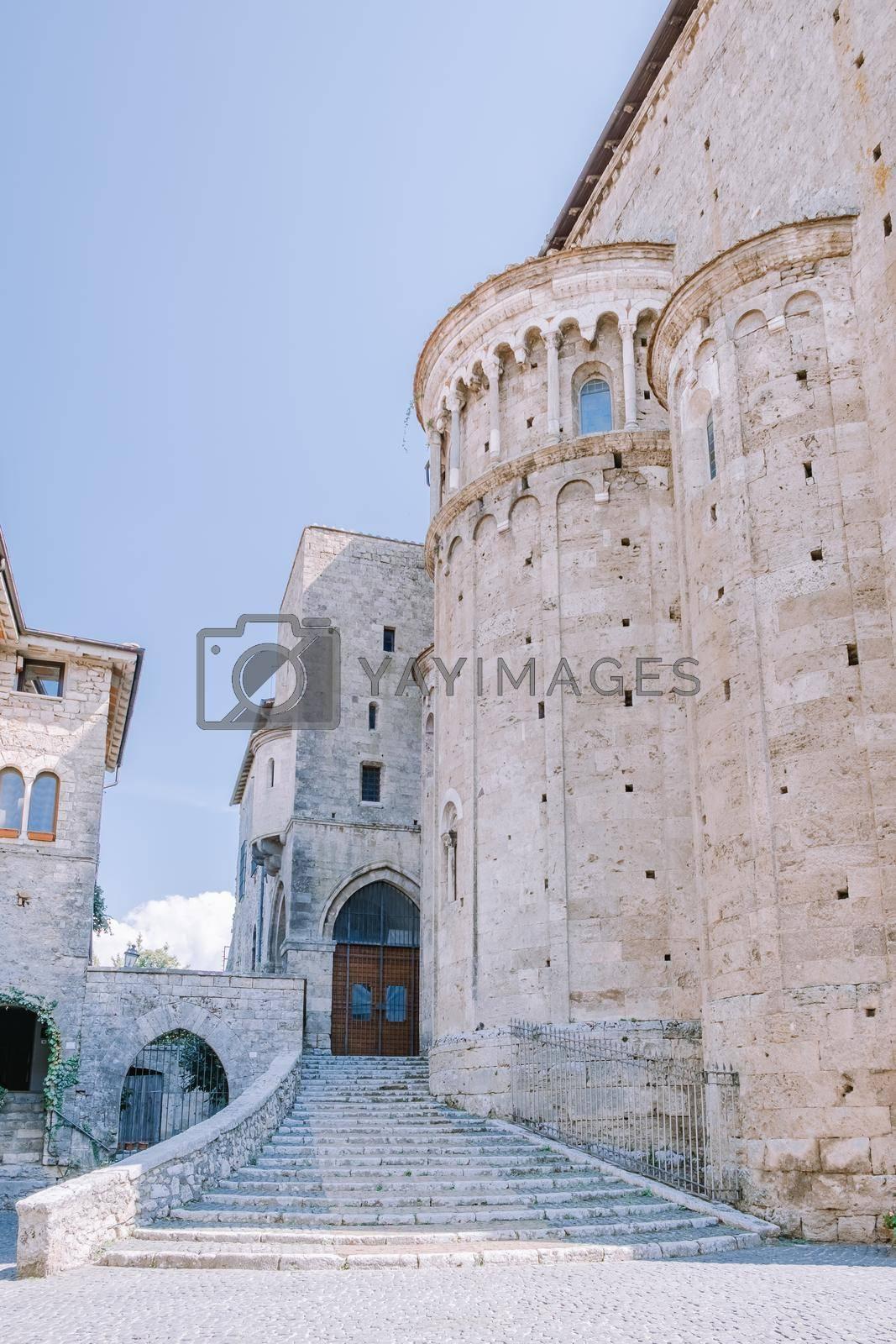 Scenic sight in Anagni, province of Frosinone, Lazio, central Italy Europe