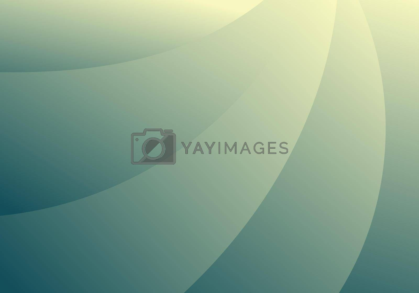 Modern background abstract blue curve gradient color with lighting background and texture. Vector illustration