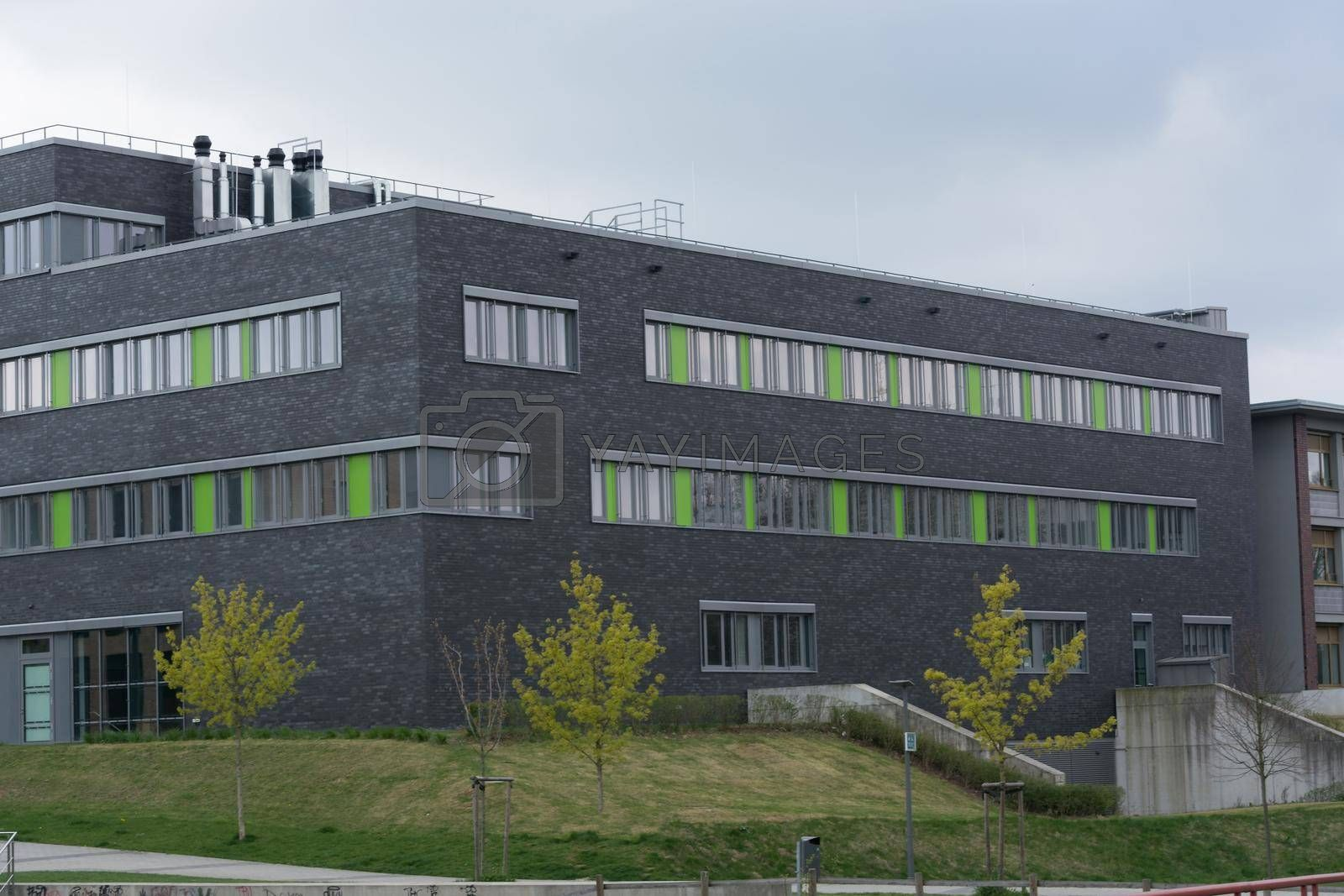 Modern campus of the cities of Velbert and Heiligenhaus is a branch of the University of Bochum
