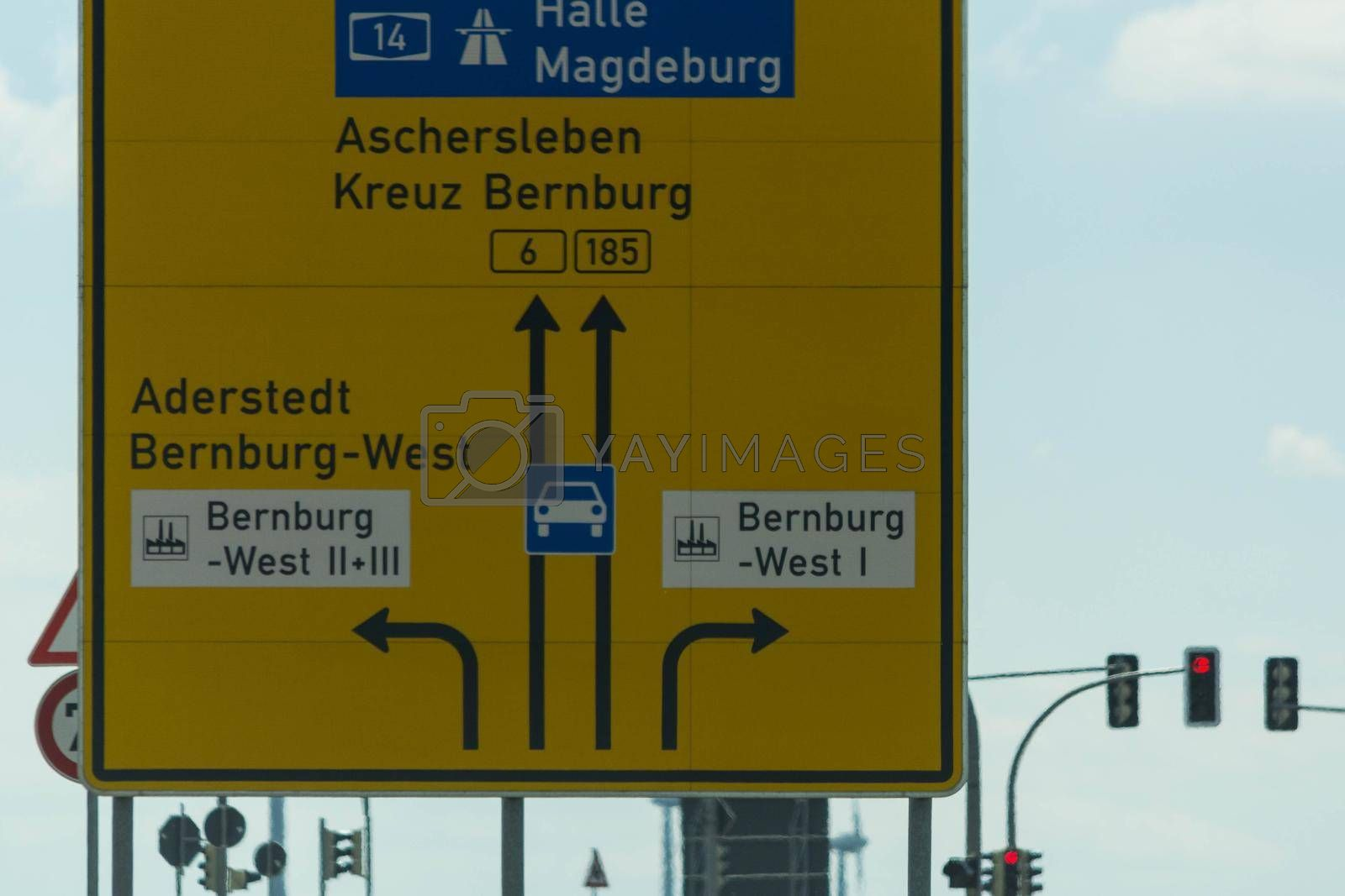 Royalty free image of Highway scenery in Germany             by JFsPic