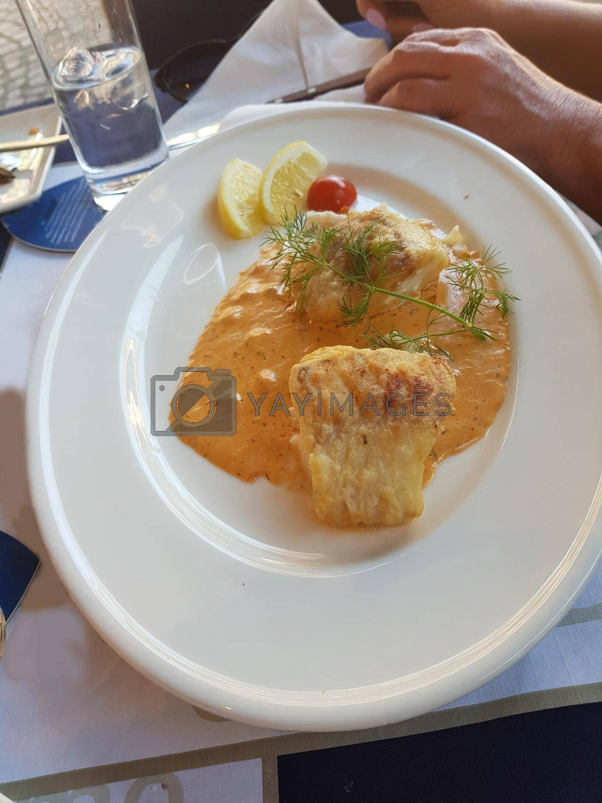 Royalty free image of Homemade fish  by JFsPic
