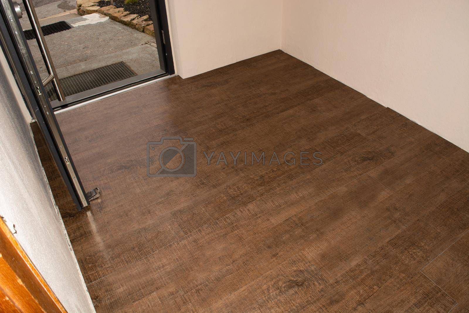 Royalty free image of Threaded panel of a laminate floor    by JFsPic