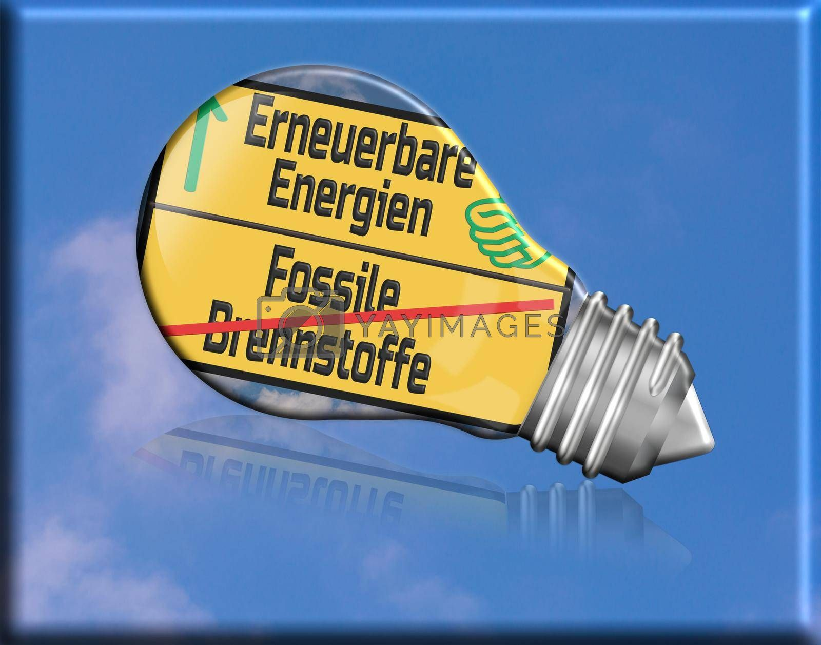 Royalty free image of Renewable energies and sustainability      by JFsPic