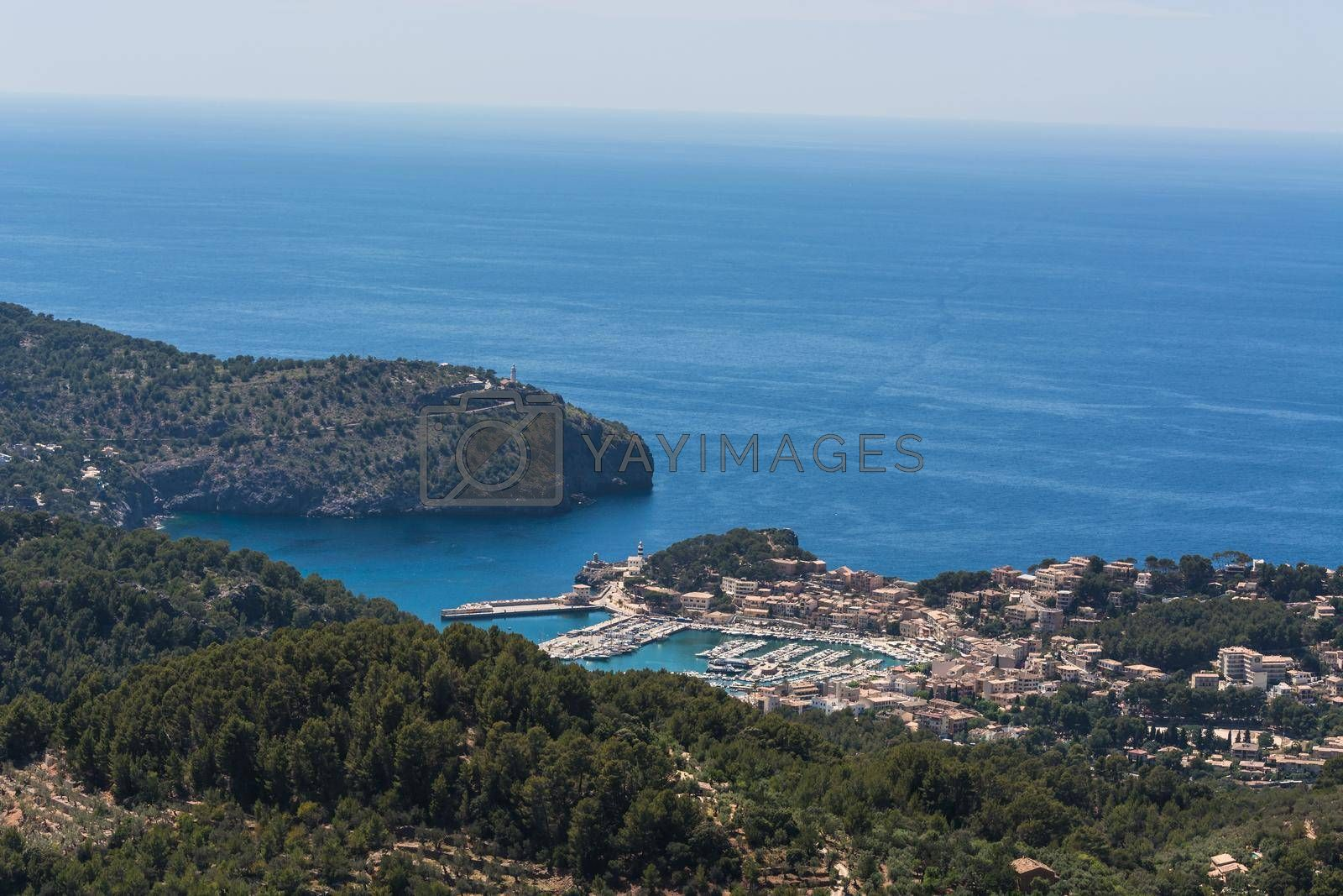 Royalty free image of Bay of Port Antratx by JFsPic