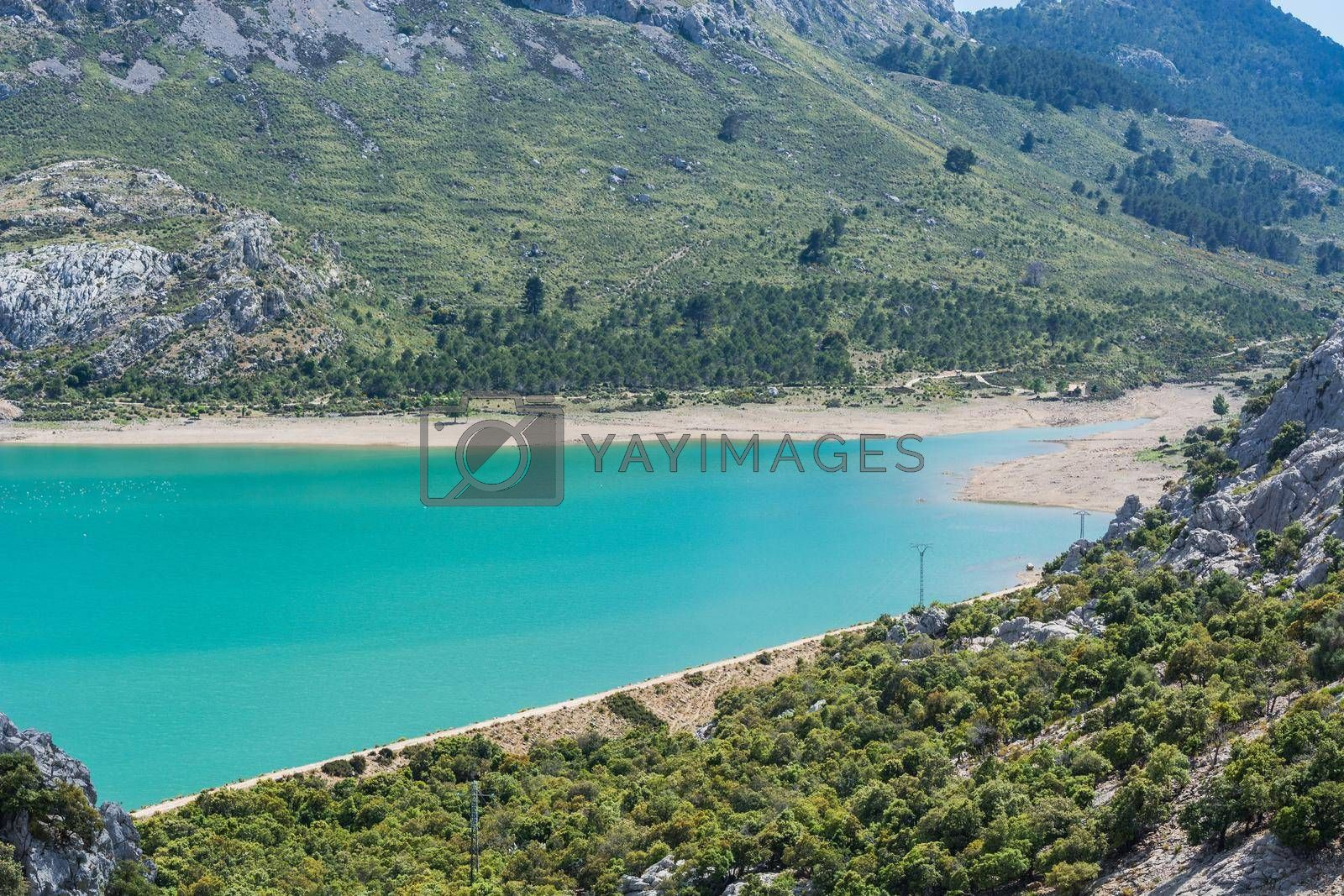 Royalty free image of Fantastic views of the Embalse de Cuber                by JFsPic
