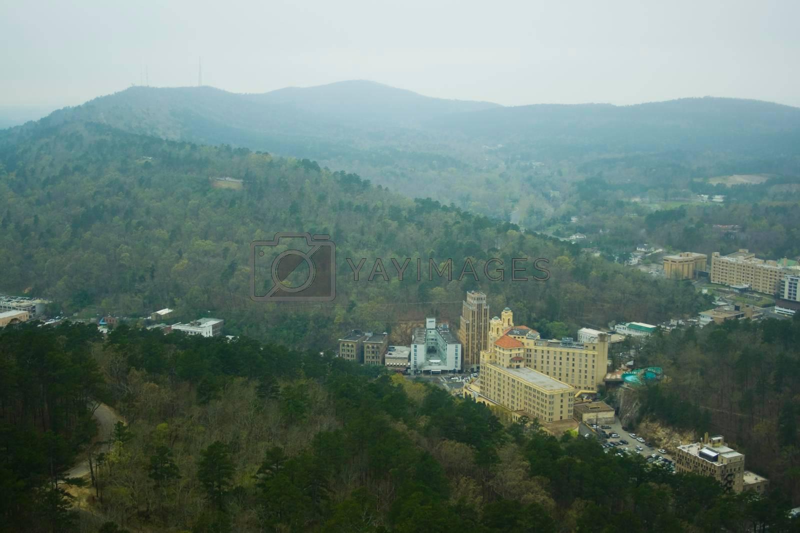 Views of Hot Springs National Park in Arkansas
