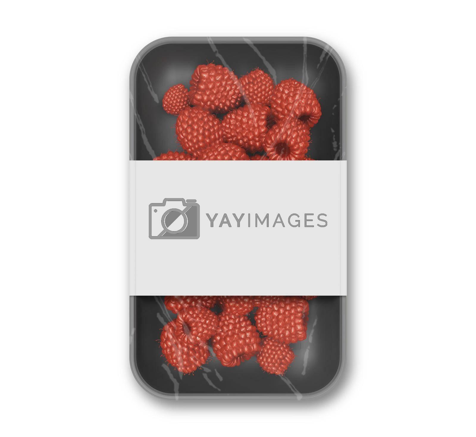 Raspberry Packaging Mockup