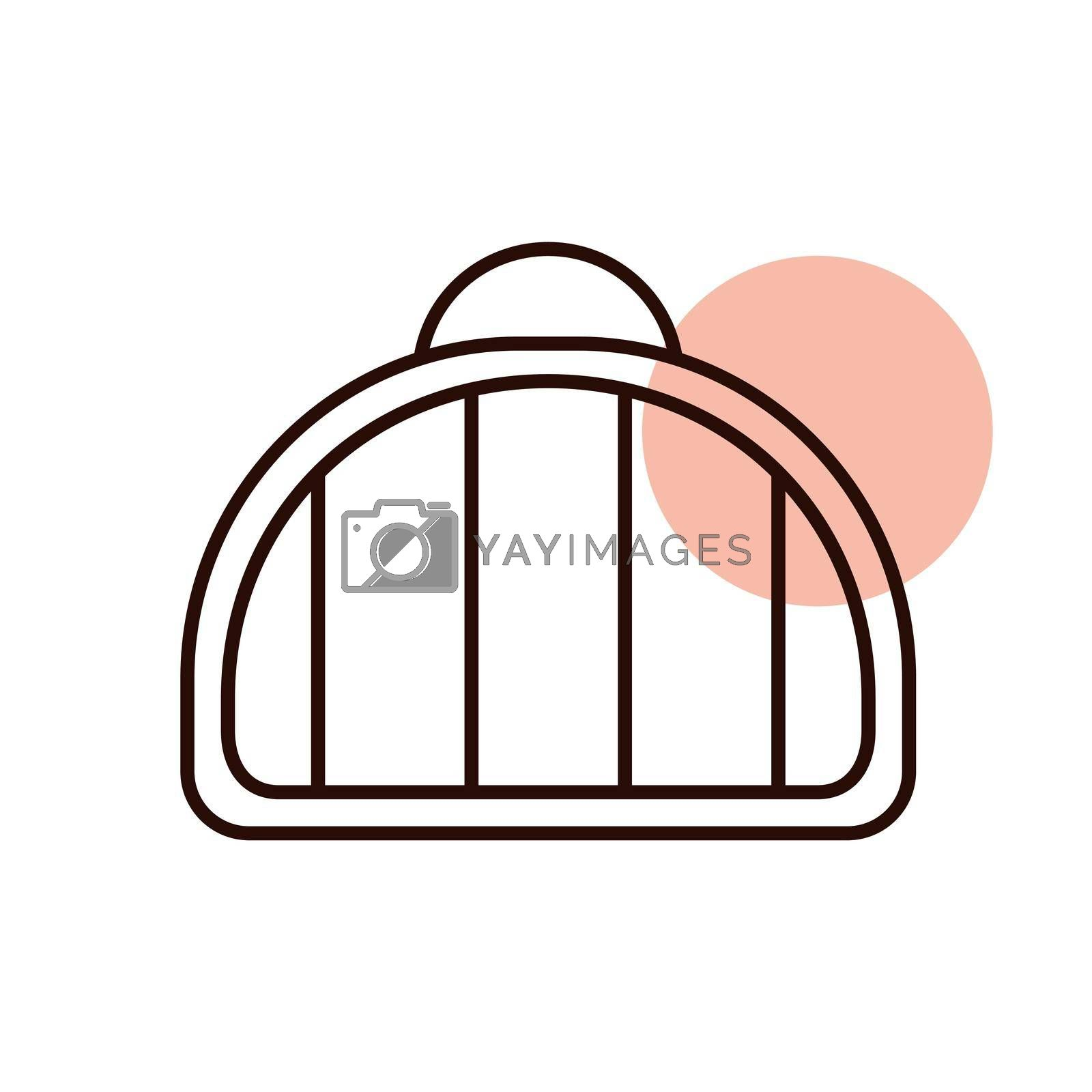 Pet carrier vector icon. Pet animal sign. Graph symbol for pet and veterinary web site and apps design, logo, app, UI