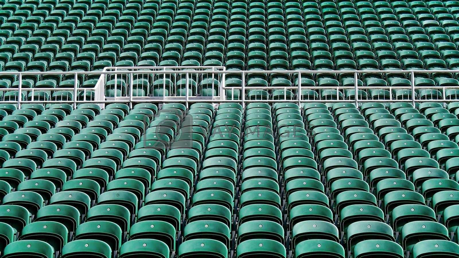 Royalty free image of Rows of stadium seating by speedfighter