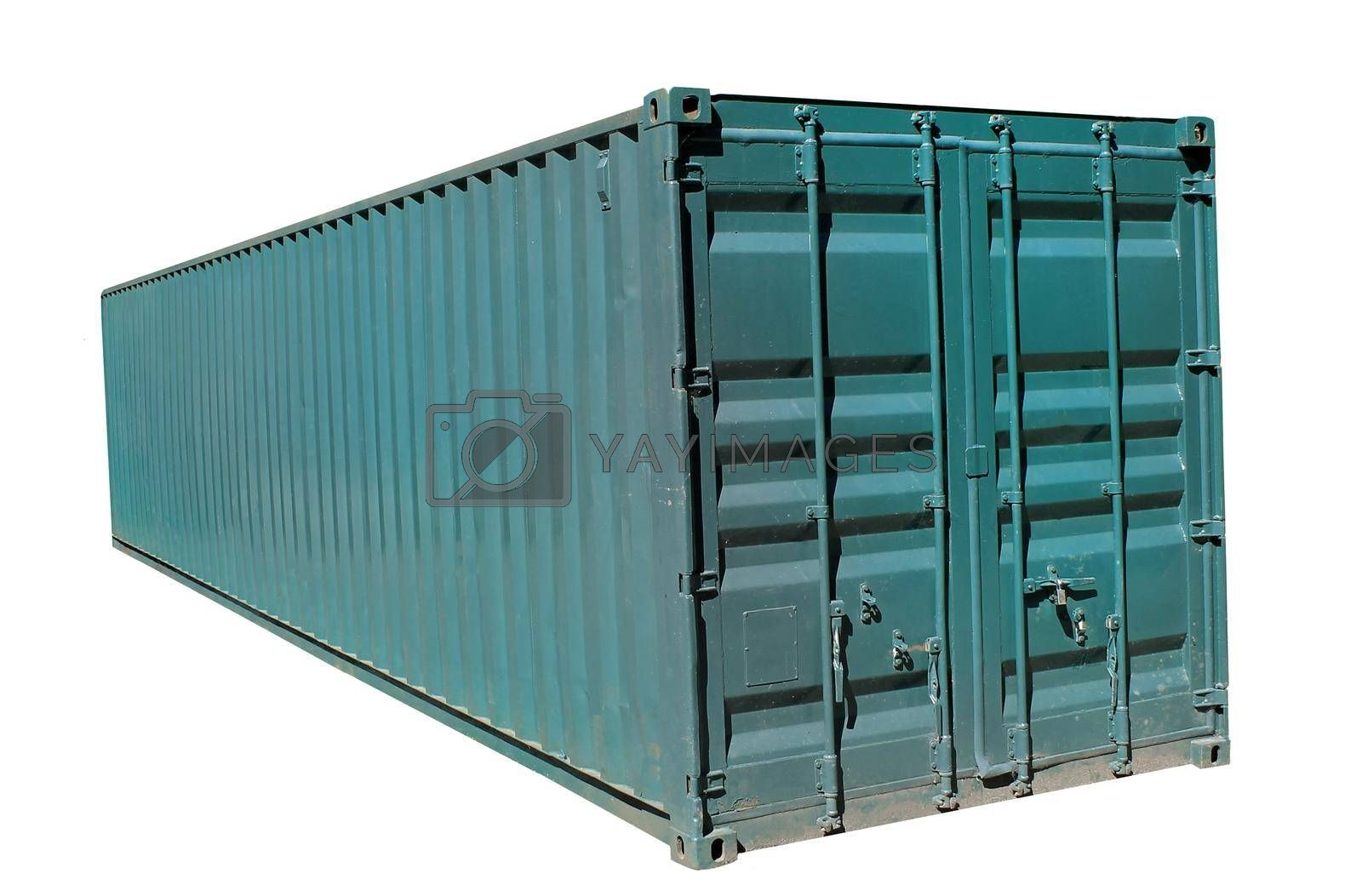 Royalty free image of Shipping container by speedfighter