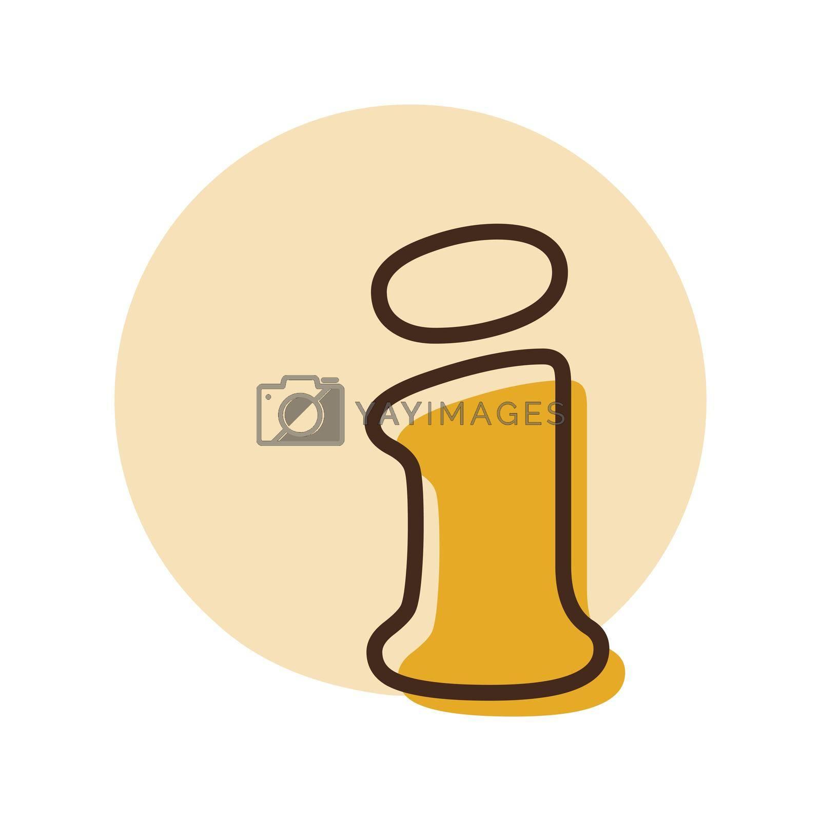 Information web icon. Help, FAQ. E-commerce sign. Graph symbol for your web site design, logo, app, UI. Vector illustration, EPS10.