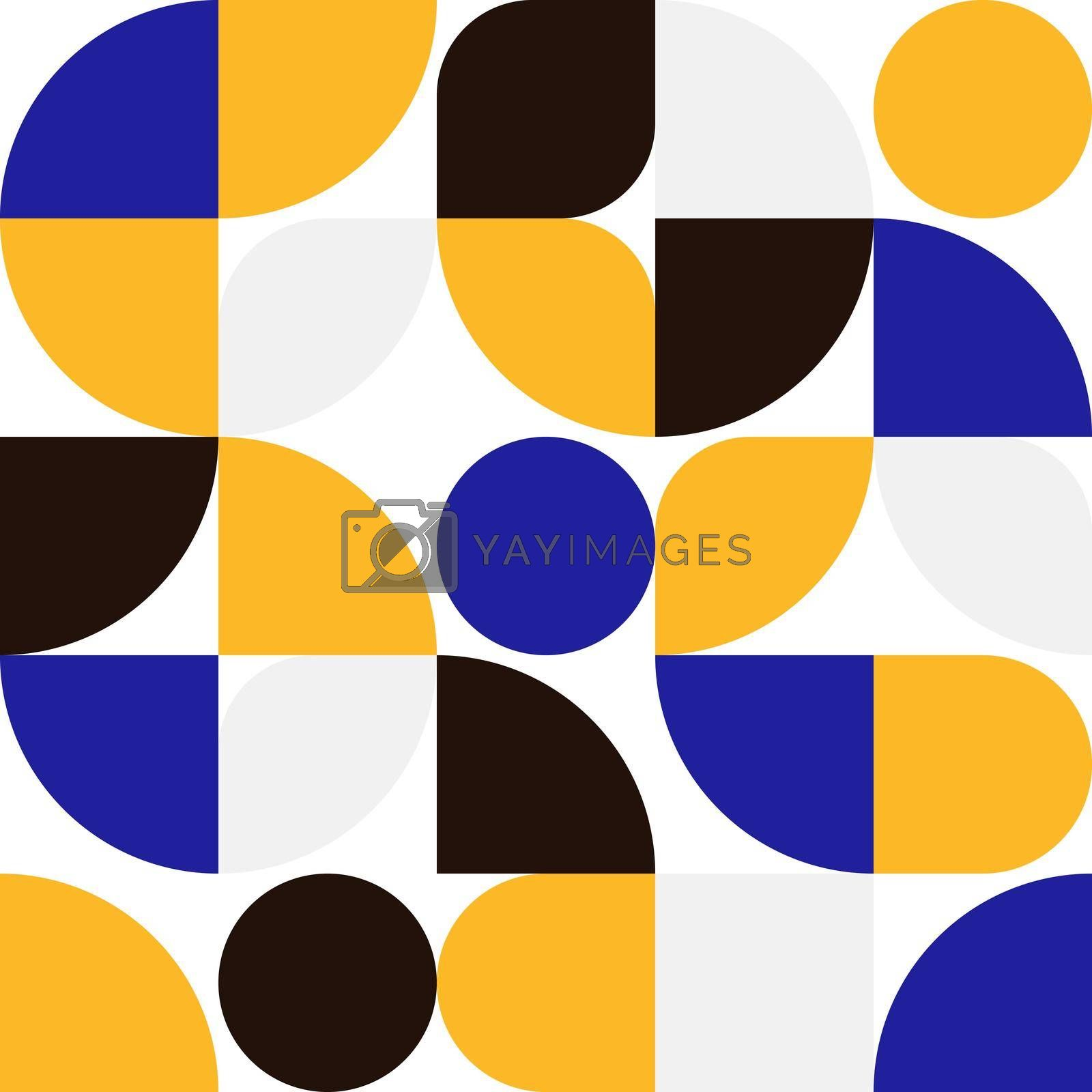 Abstract geometric sinple shape pattern minimal design background. You can use for web banner, print, wallpaper, presentation, etc. Vector illustration