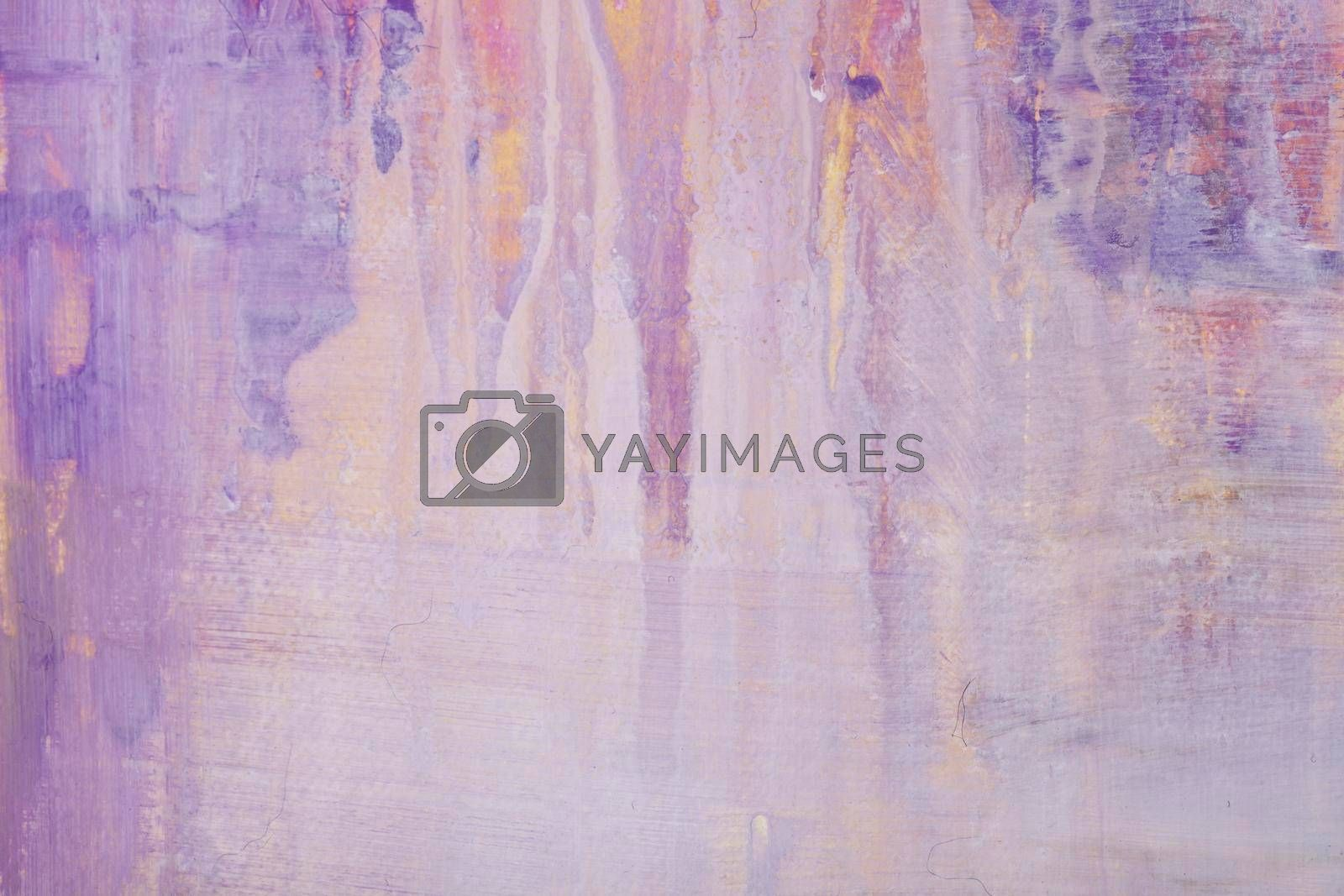 Multicolor abctract painting background. Abstract painting pink and puprle shades colorful texture. Modern futuristic pattern. Artwork for creative graphic design.