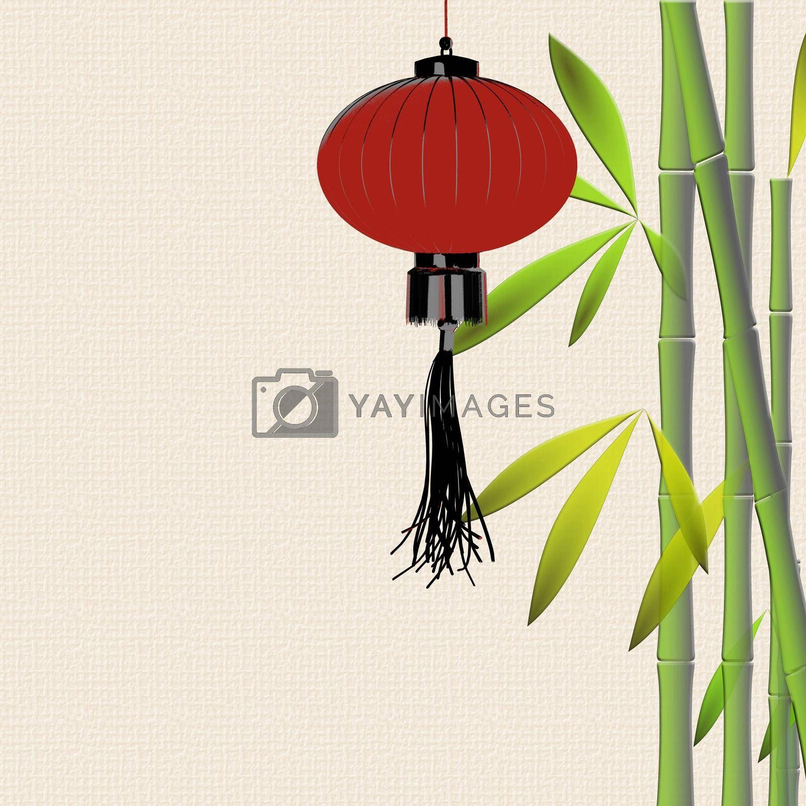 traditional Asian decor for Lantern festival by NelliPolk