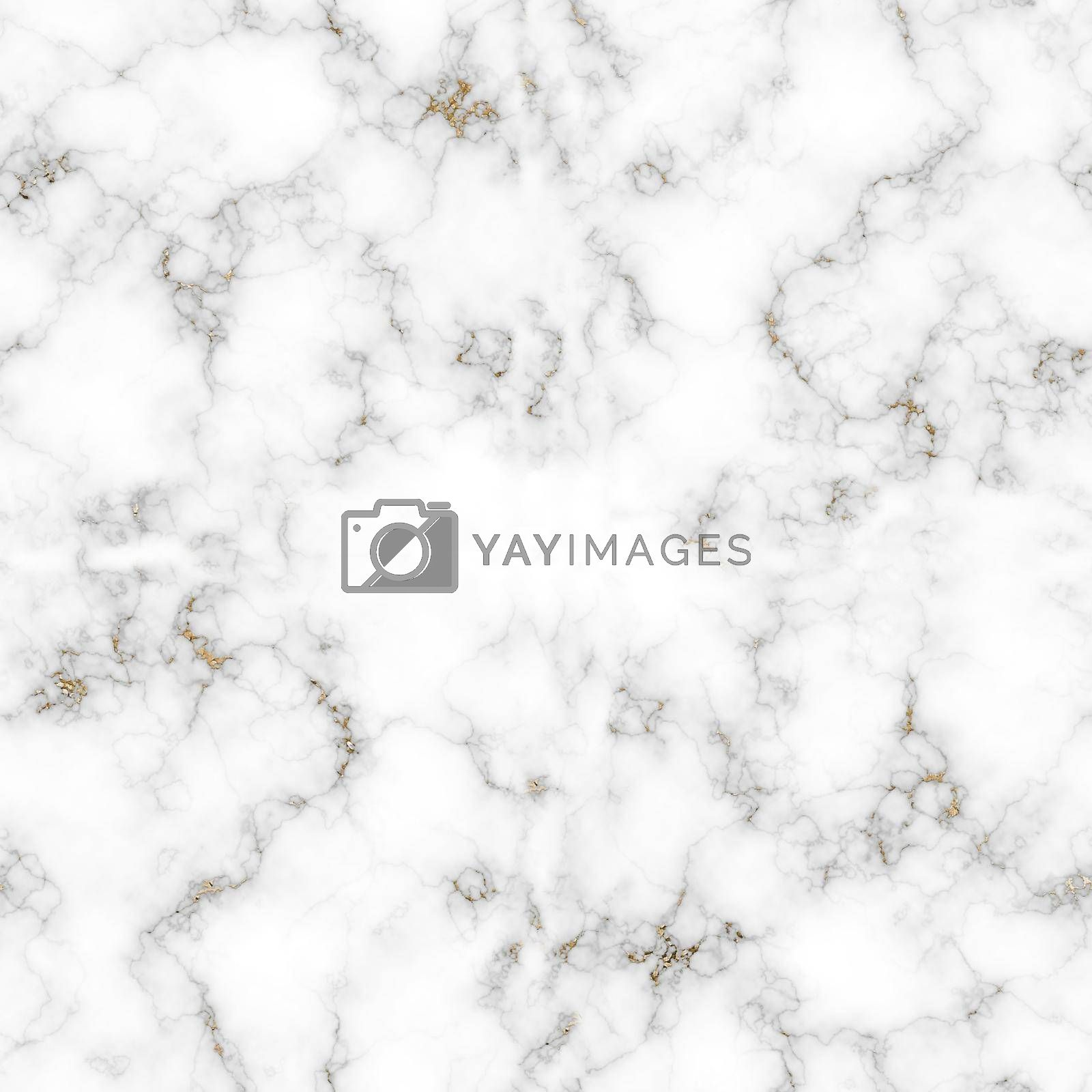 White marble with gold texture pattern by NelliPolk