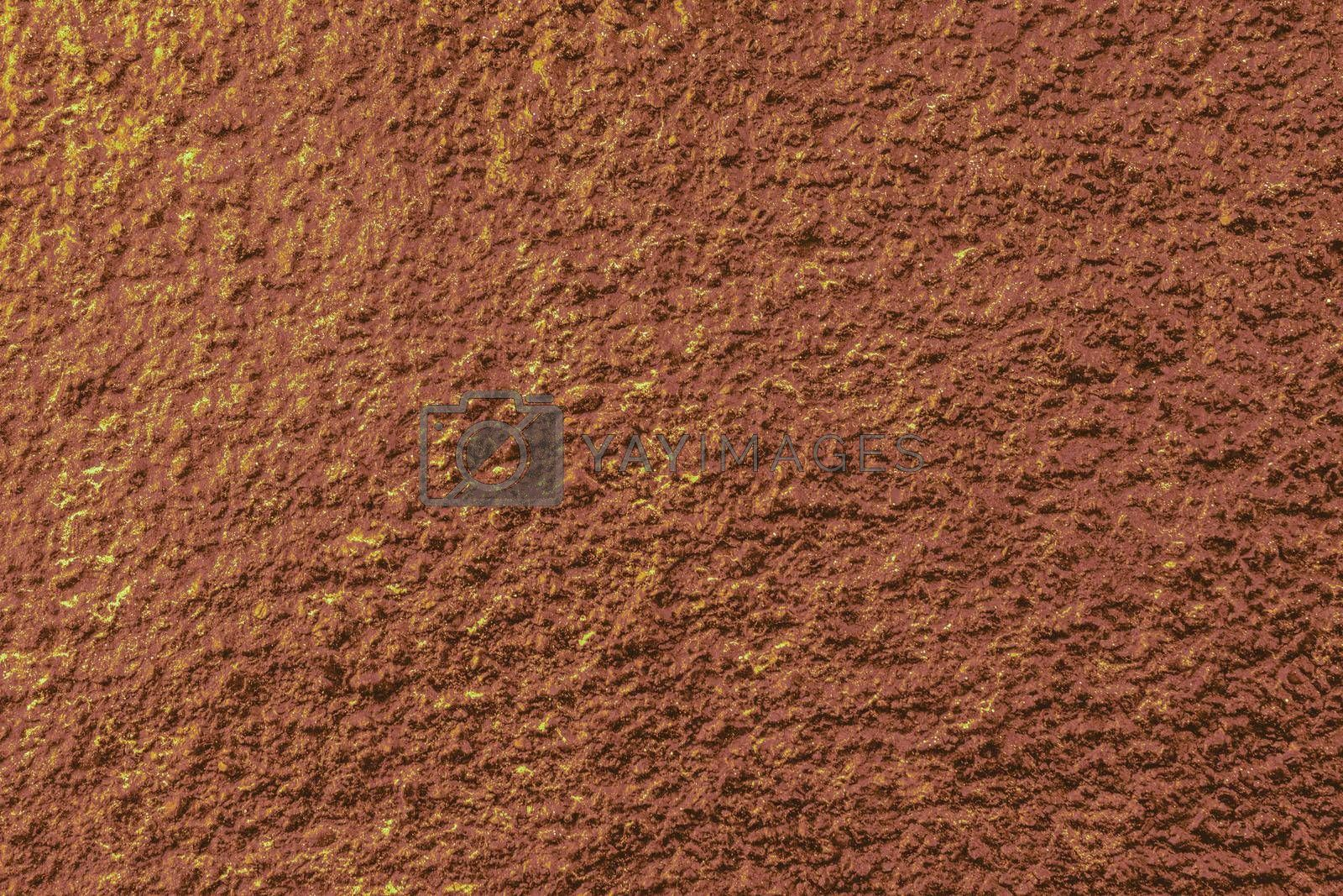 Wall surface painted of various colors as abstract background texture