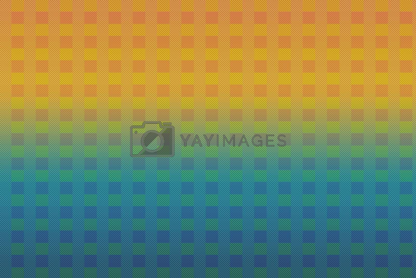 Geometric seamless pattern with small squares, repeat tiles.