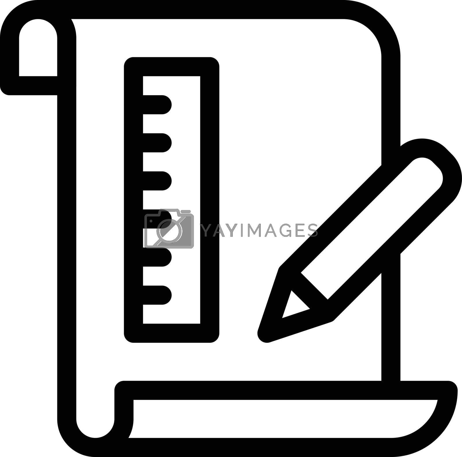 education vector thin  line icon