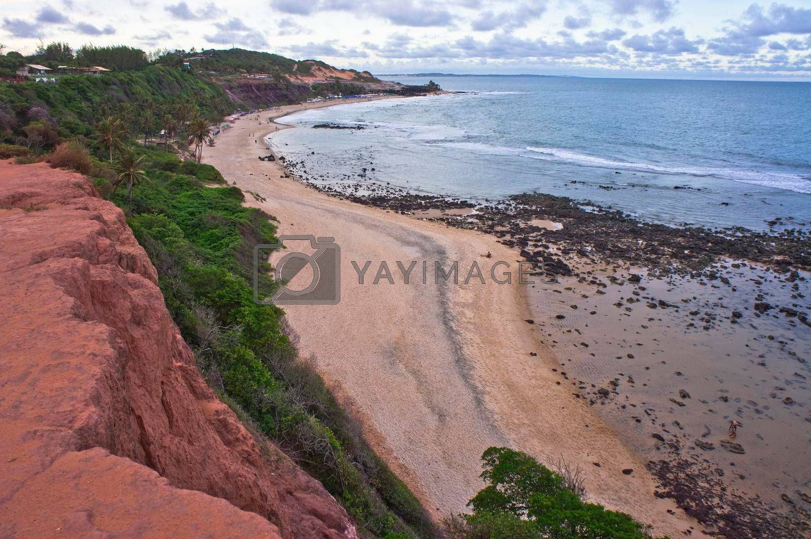 Pipa, Tropical beach view, Natal, Brazil, South America