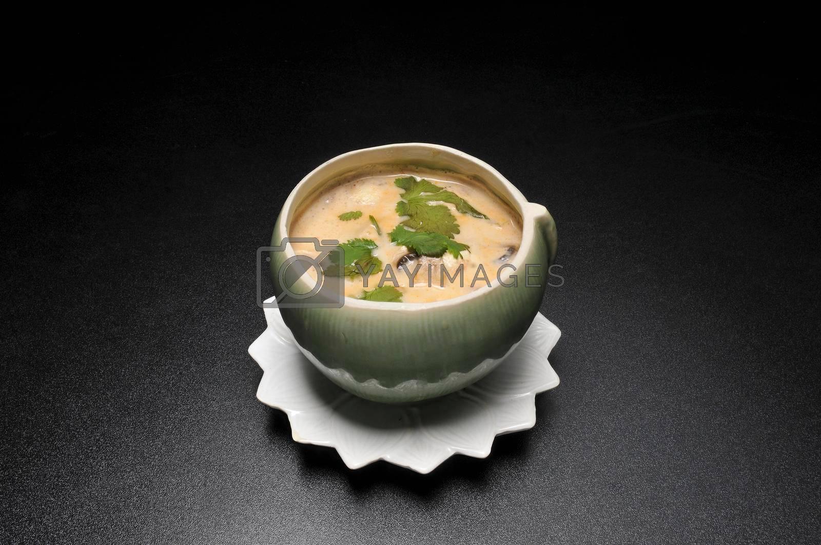 Thai cuisine dish known as tom kha