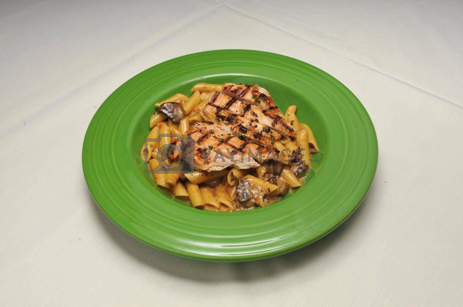 Traditional and authentic Italian dish known as chickn Milano