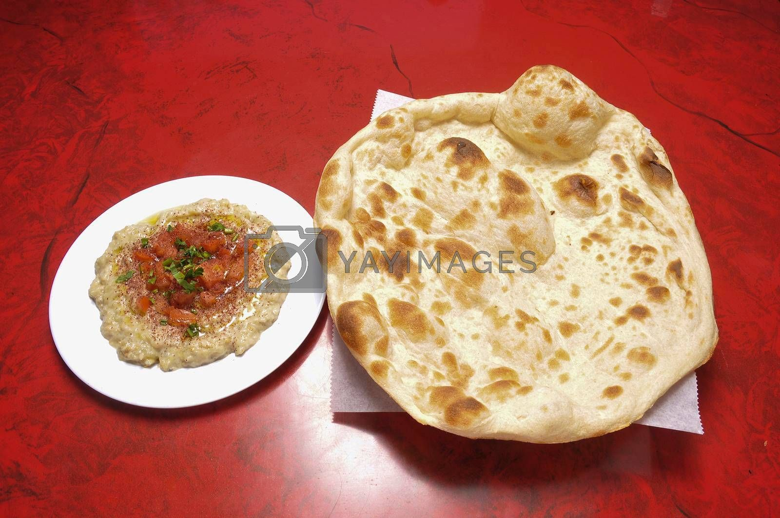 Delicious and delectable Lebanese dish known as Baba Ghannouj