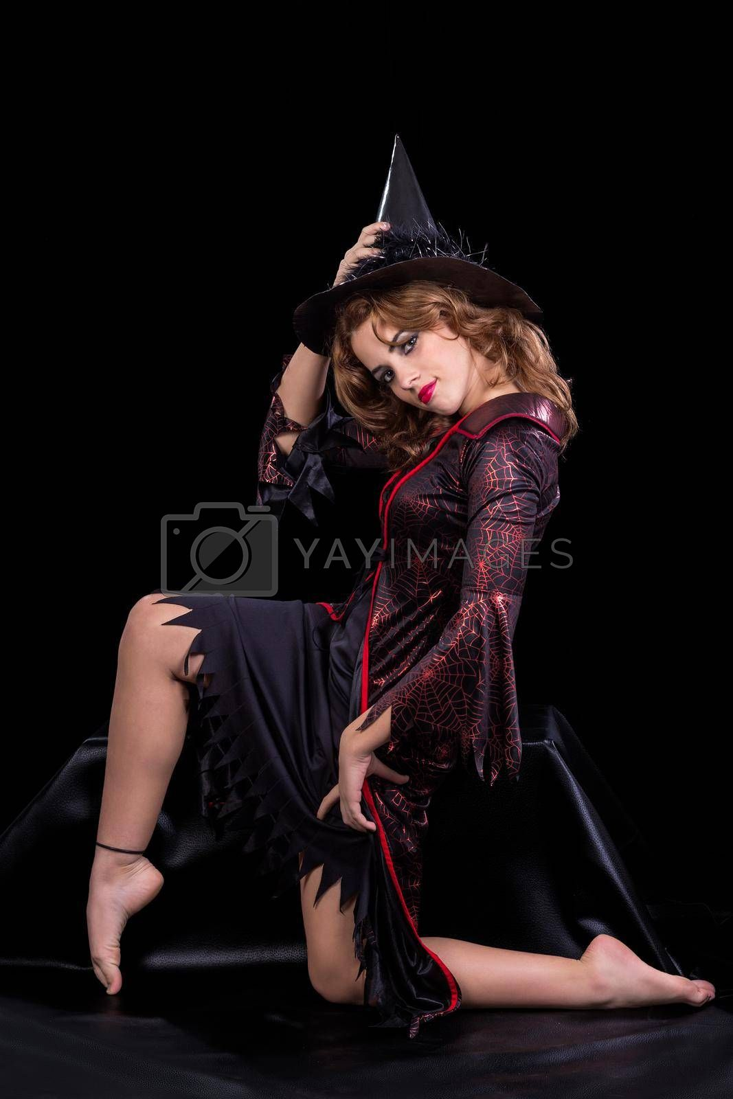 Royalty free image of Witch costume by jrivalta