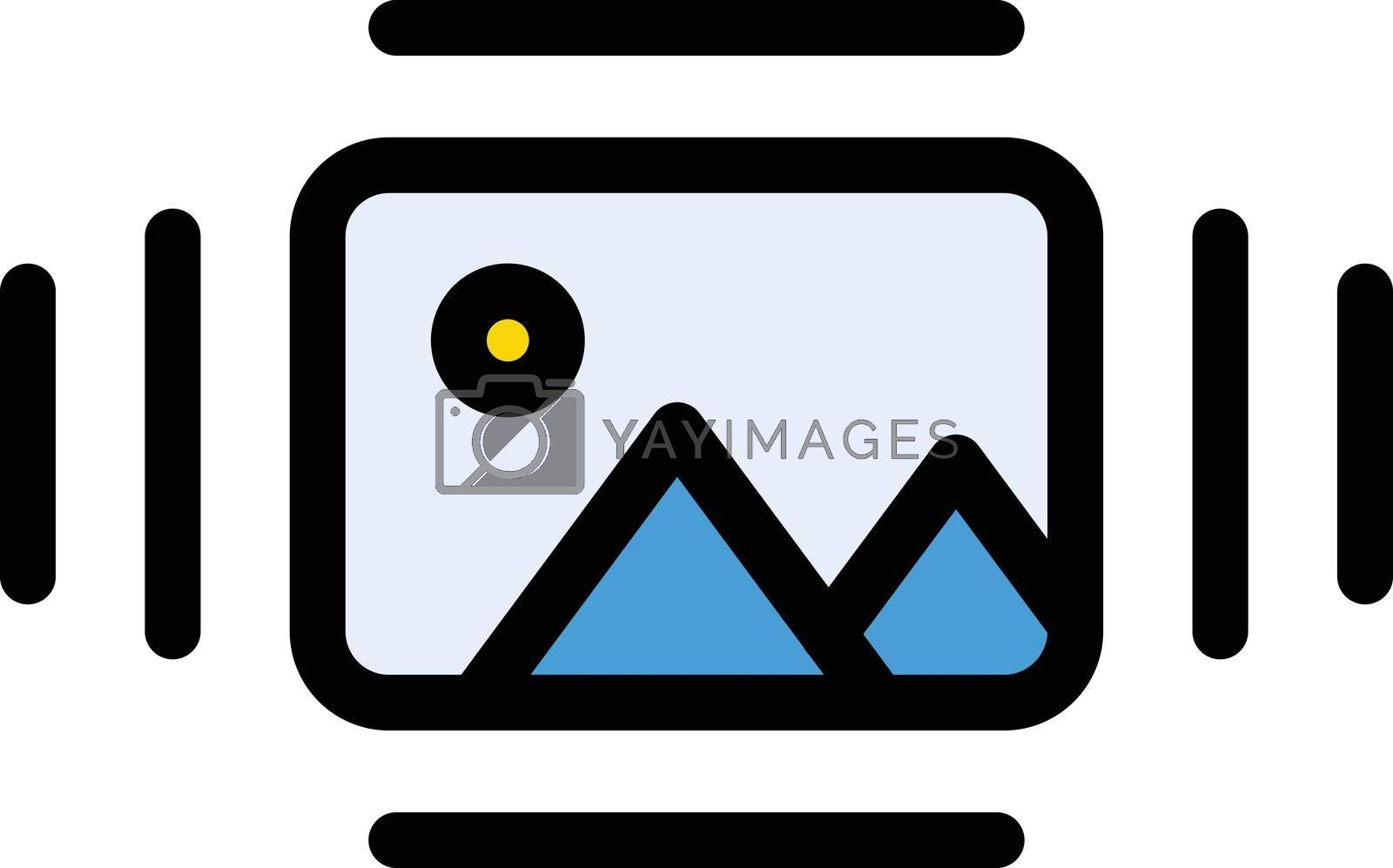 Royalty free image of picture by vectorstall