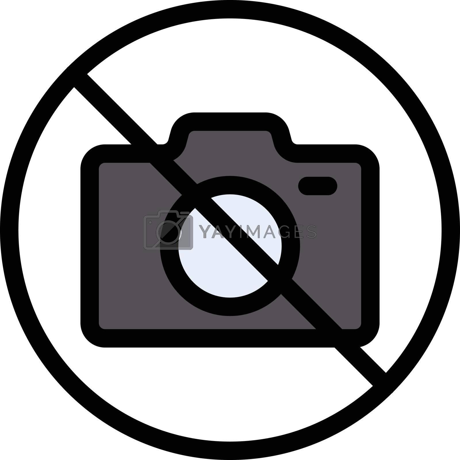 Royalty free image of camera ban by vectorstall