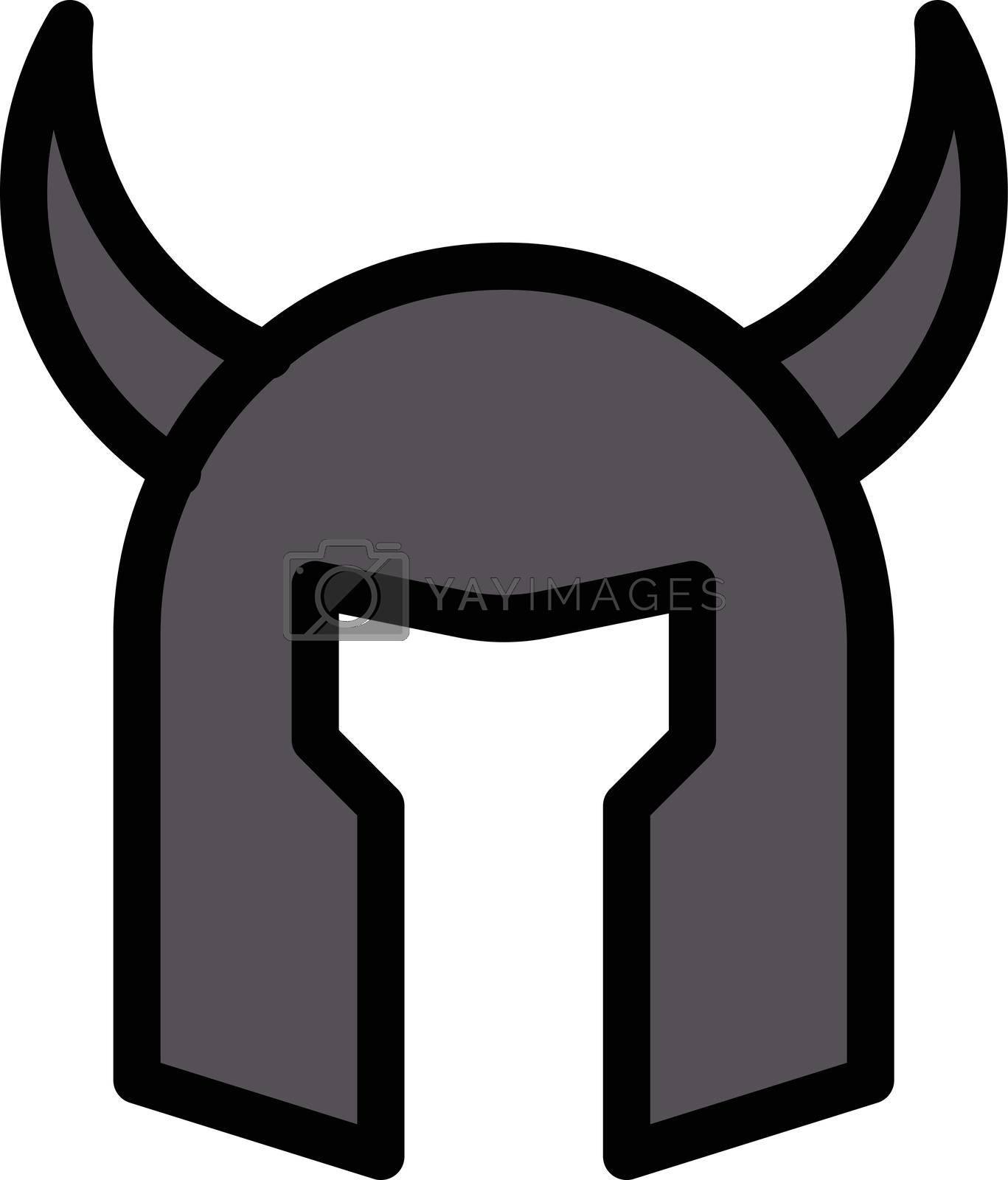 Royalty free image of helmet warrior by vectorstall