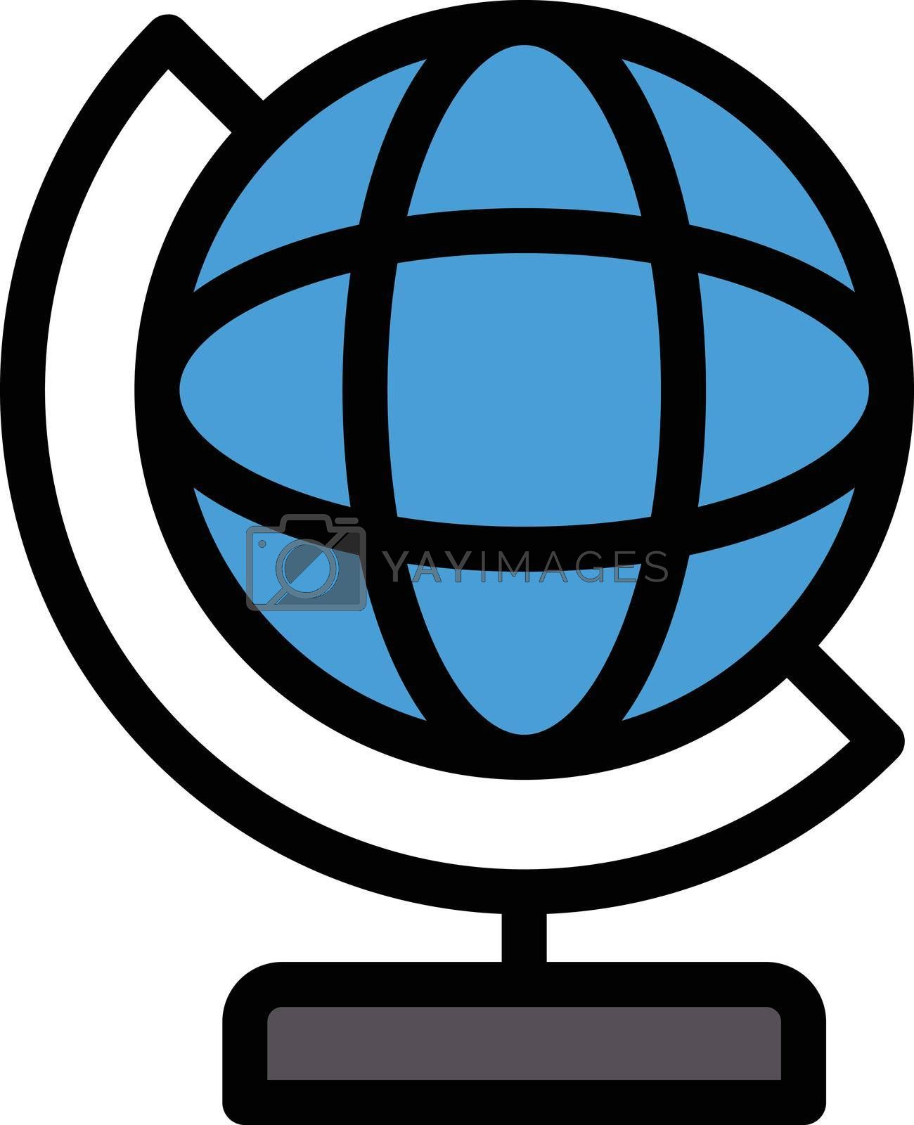 Royalty free image of globe by vectorstall