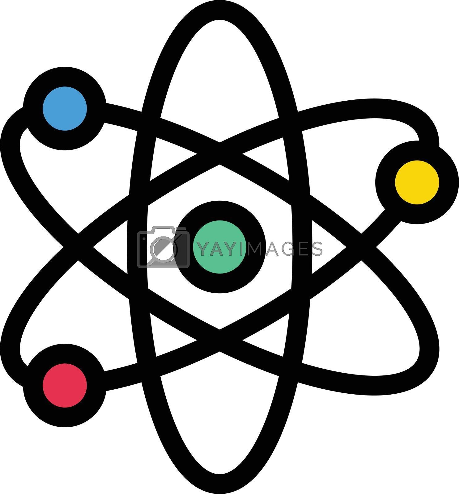 Royalty free image of atom by vectorstall