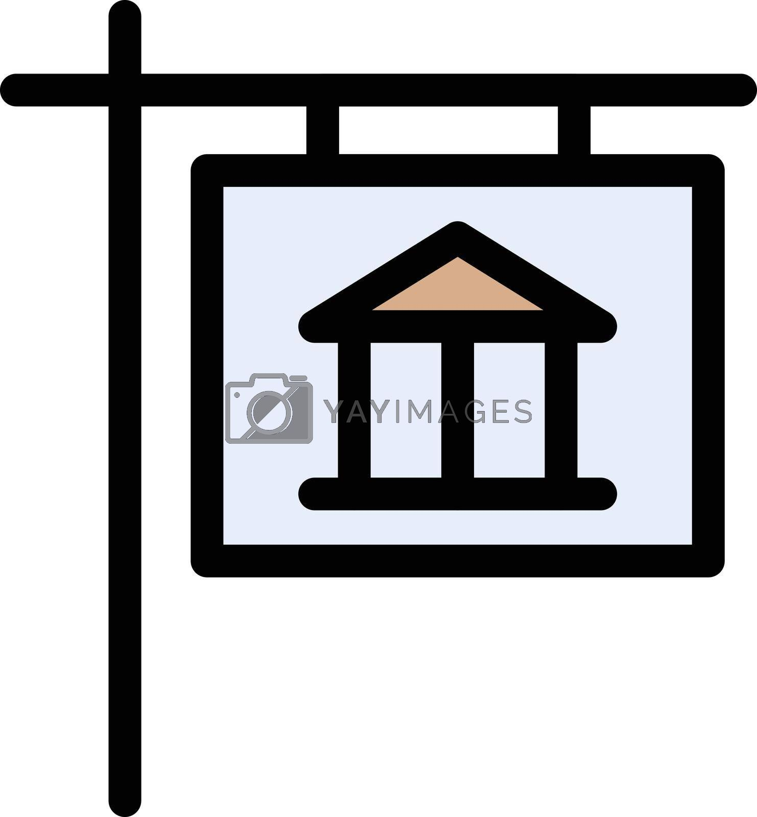Royalty free image of museum board by vectorstall