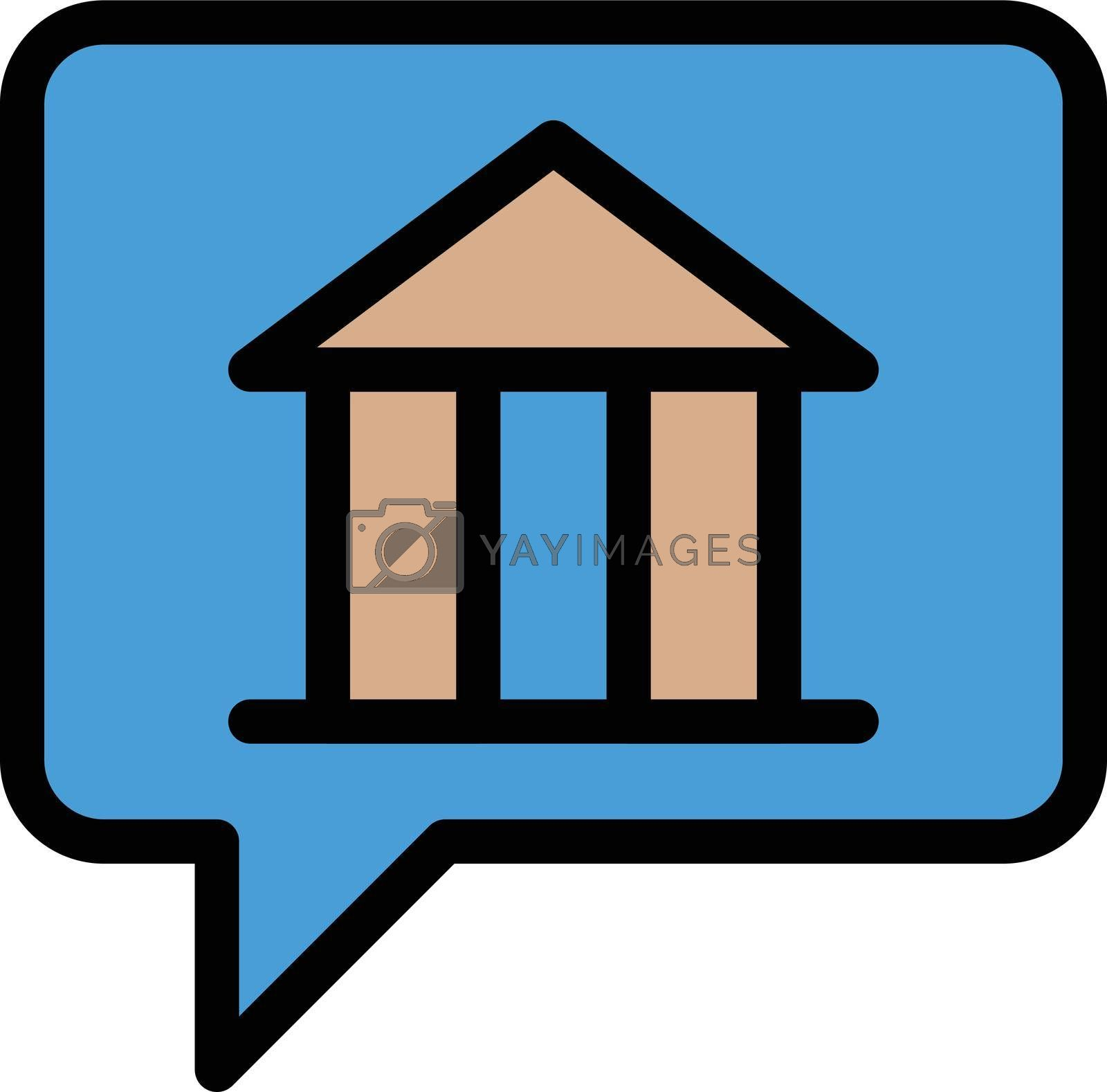 Royalty free image of museum message by vectorstall