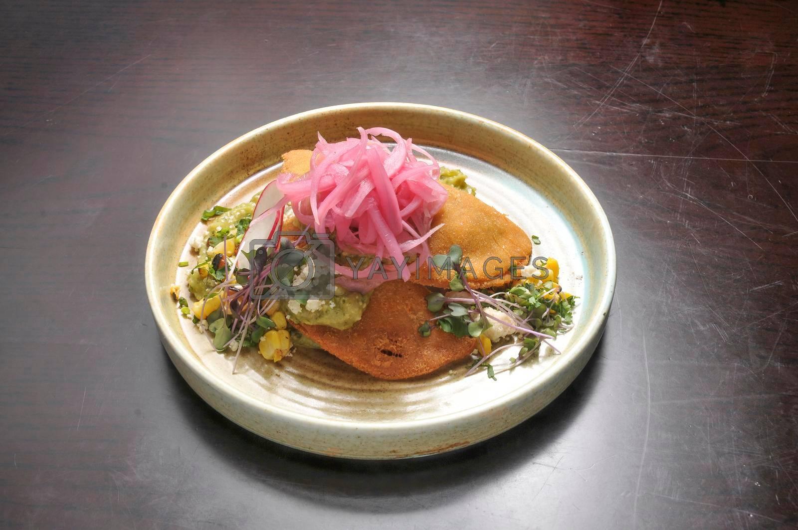 Traditional spanish mexican food Empanadas De Huitlacoche