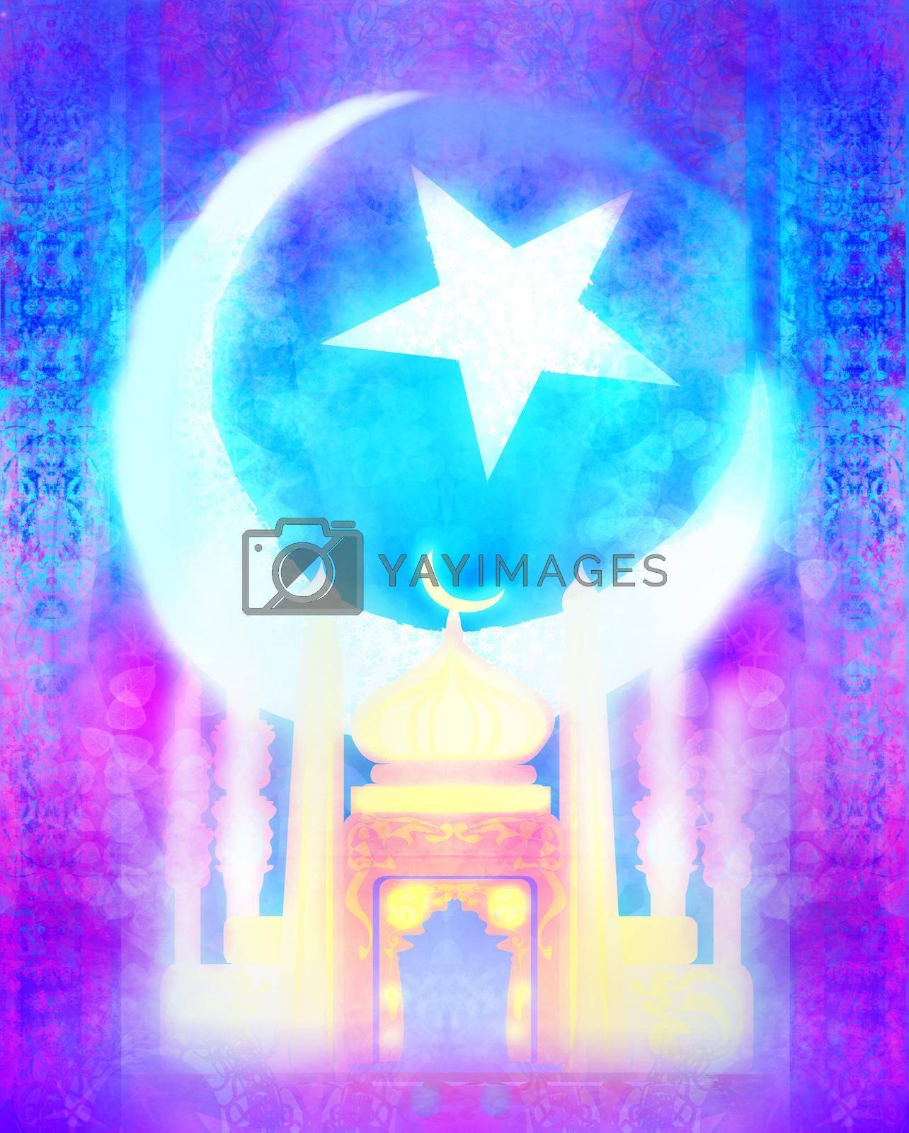 Royalty free image of Ramadan Kareem holiday greeting card design. by JackyBrown