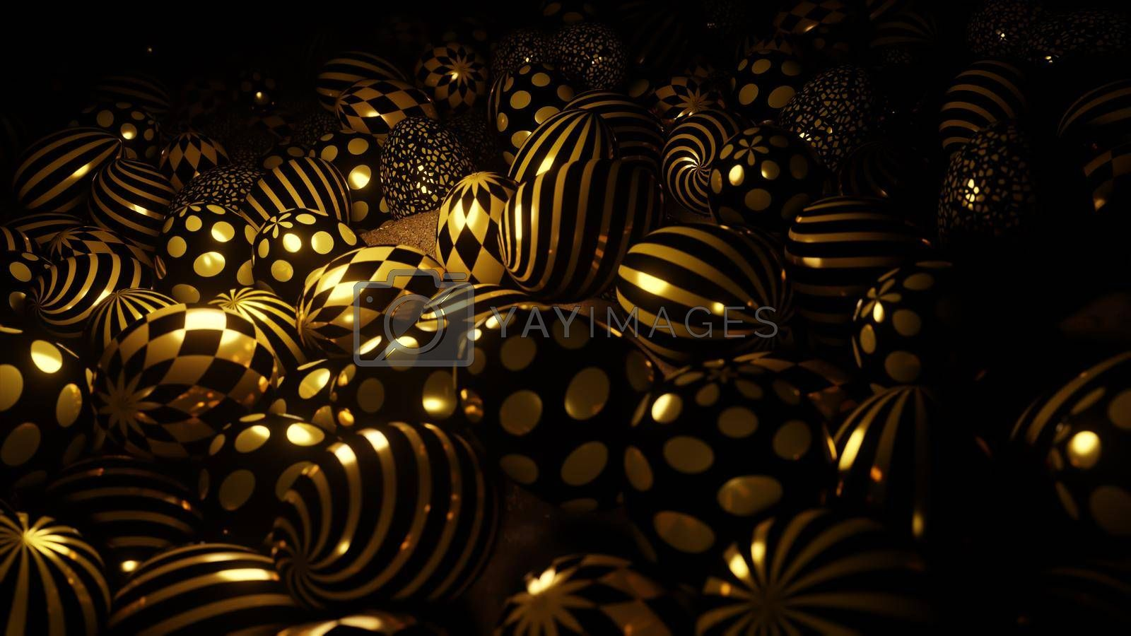 3D illustration Background for advertising and wallpaper in festival  and celebrate scene. 3D rendering in decorative concept.