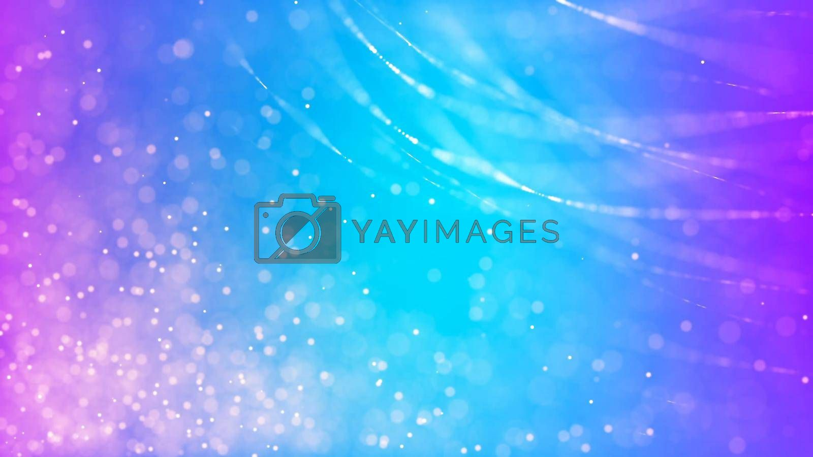 Abstract Background with nice abstract lines and bokeh