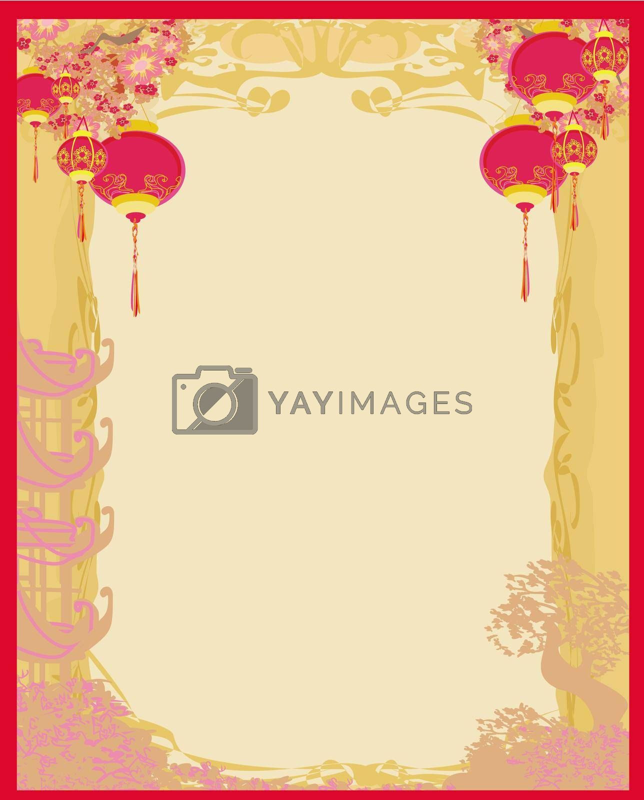 Royalty free image of Mid-Autumn Festival for Chinese New Year  by JackyBrown