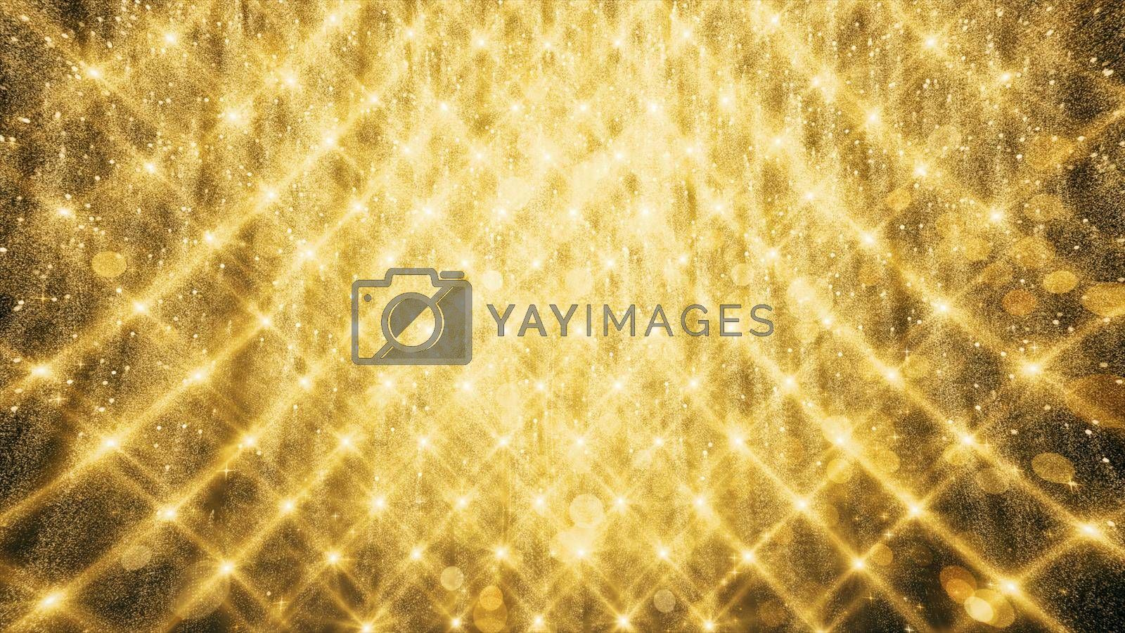 3D illustration Background for advertising and wallpaper in holiday and celebrate scene. 3D rendering in decorative concept.