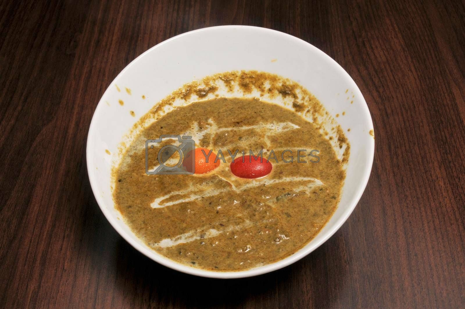 Delicious Indian dish known best as Palak Paneer