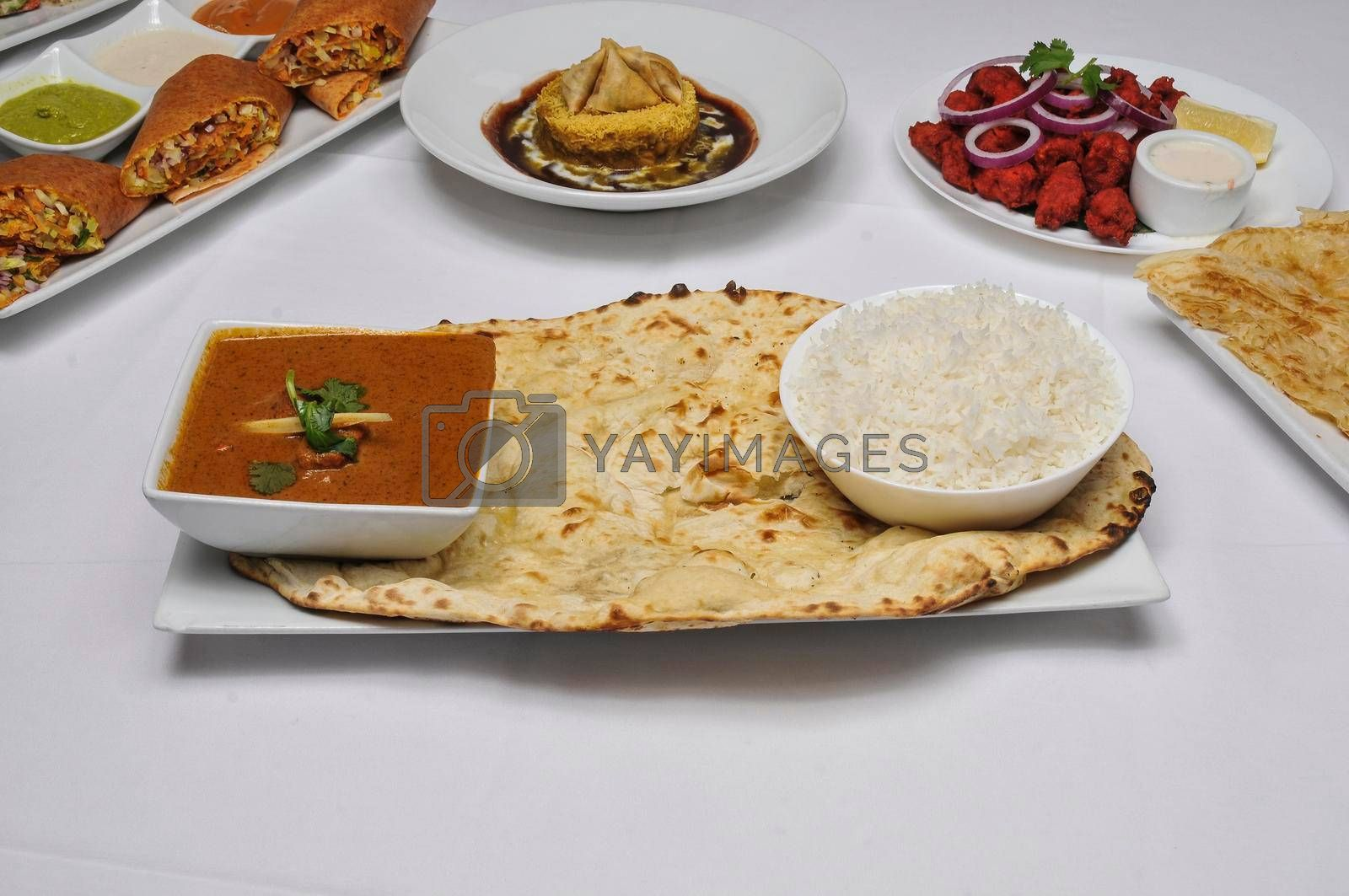 Delicious Indian dish known as chicken tikka masala