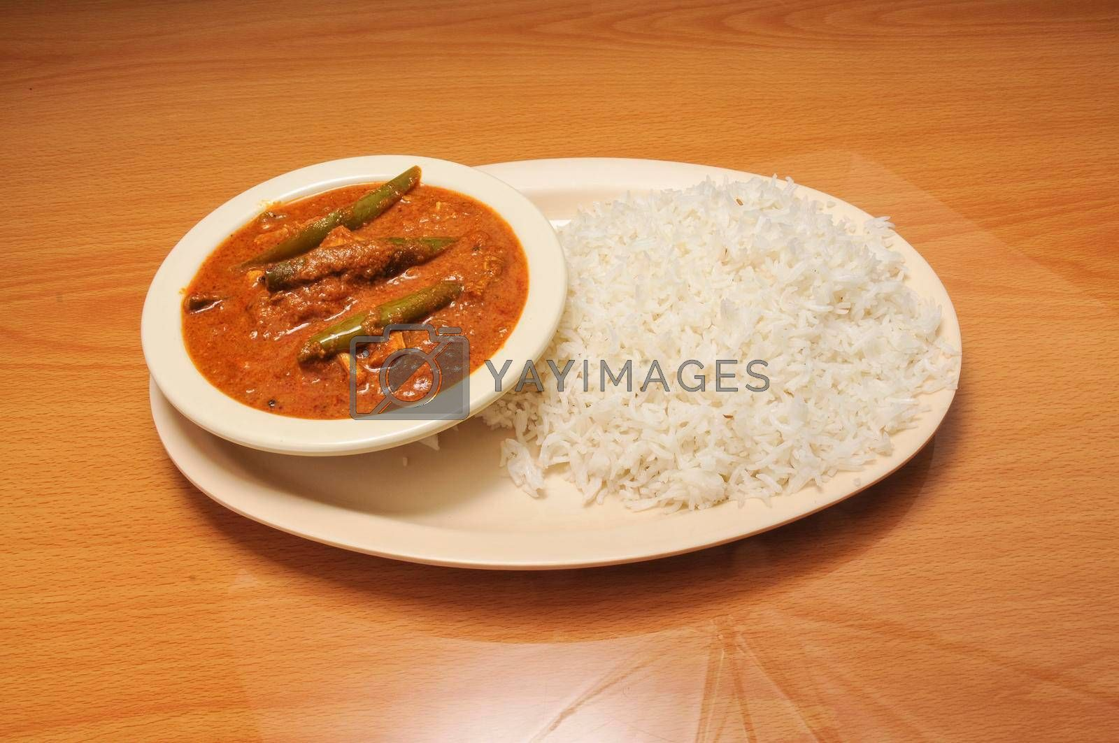 Royalty free image of Delicious Curry Chicken by robeo