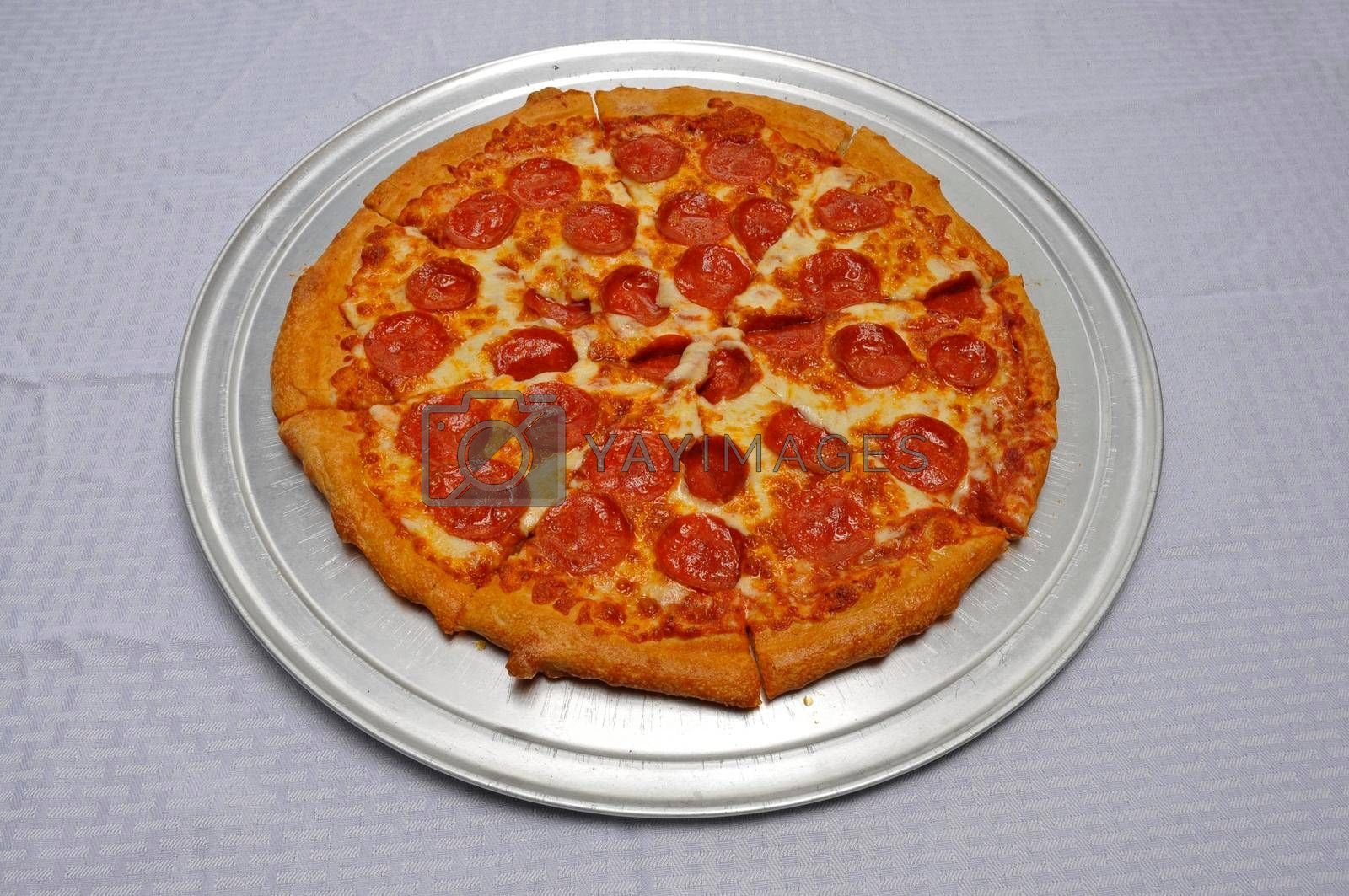 Royalty free image of Delicious Pepperoni Pizza by robeo